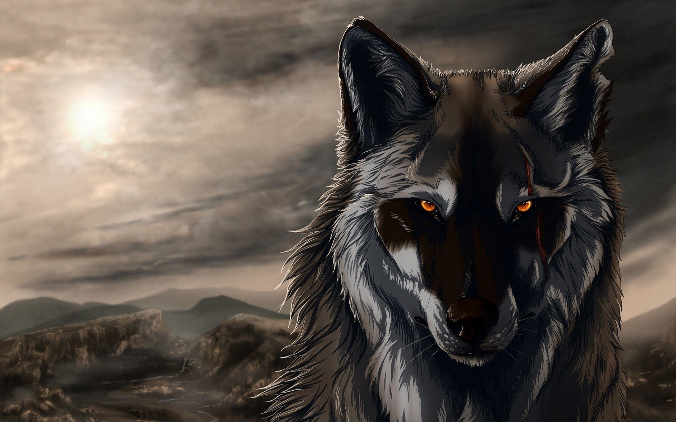 Hd Wolf Backgrounds: Cool Wolf Backgrounds ·① WallpaperTag