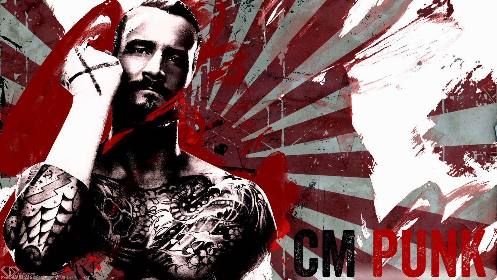 Cm Punk Logo Wallpaper 2017 Wallpapertag