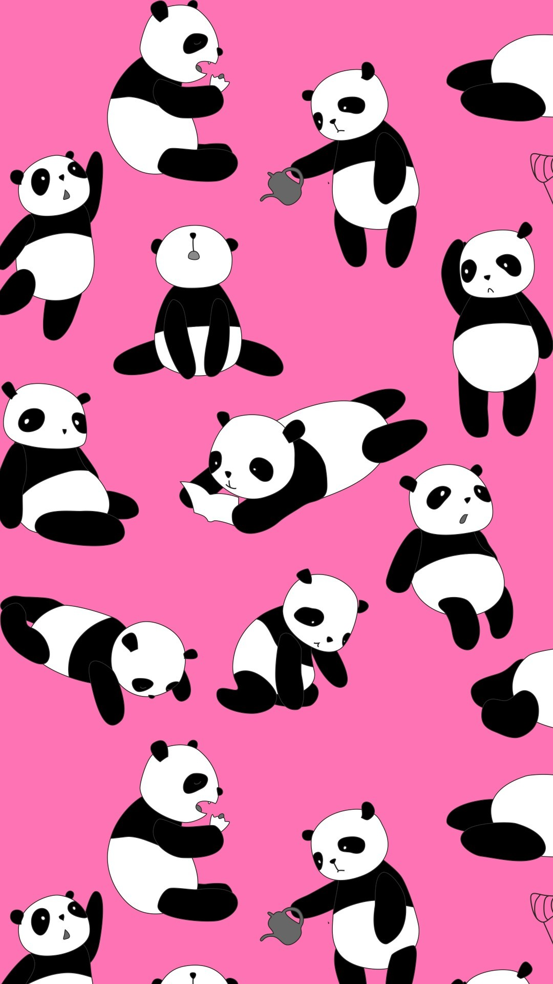Kawaii Tare Panda Wallpaper 1