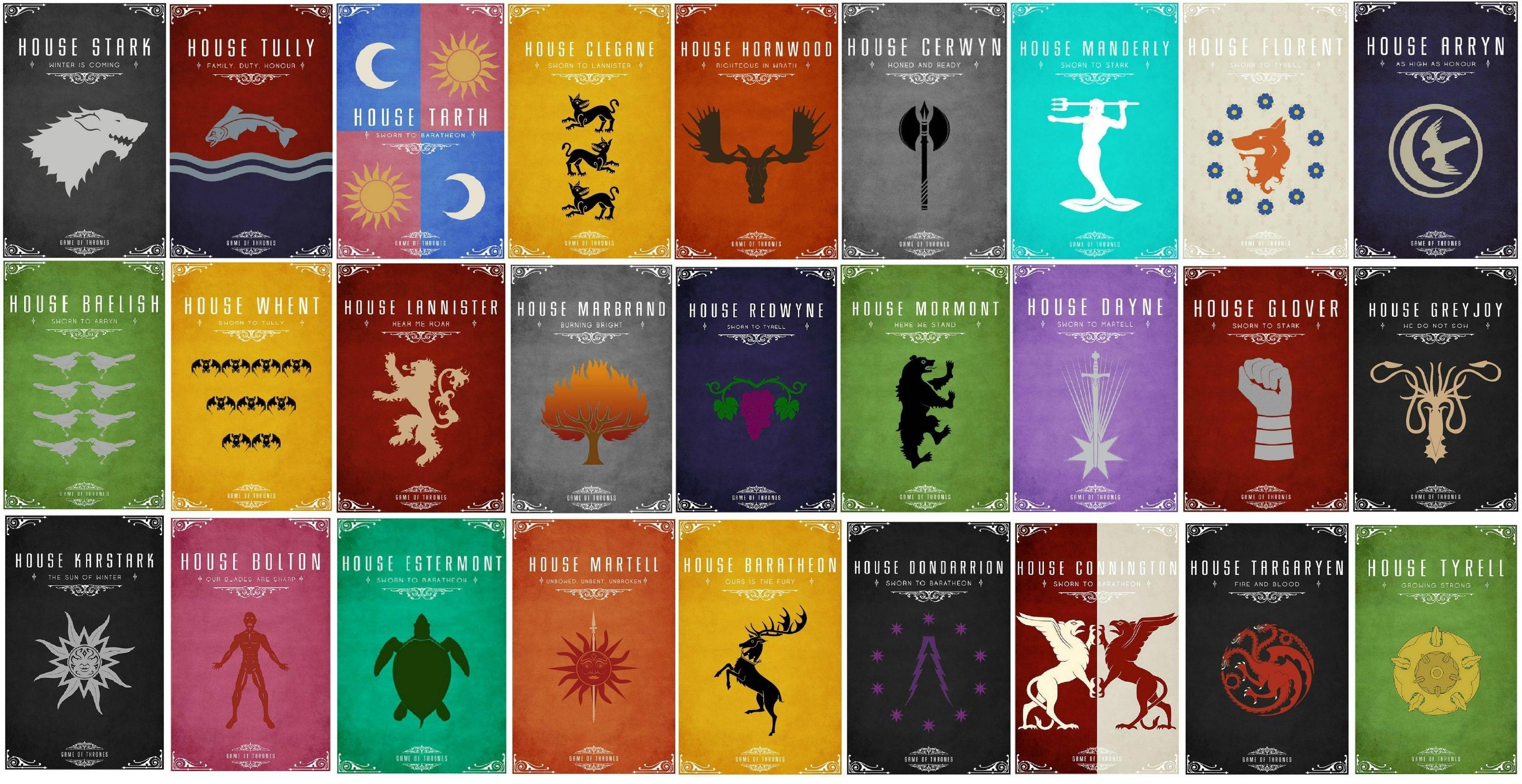 Game Of Thrones House Wallpapers Wallpapertag