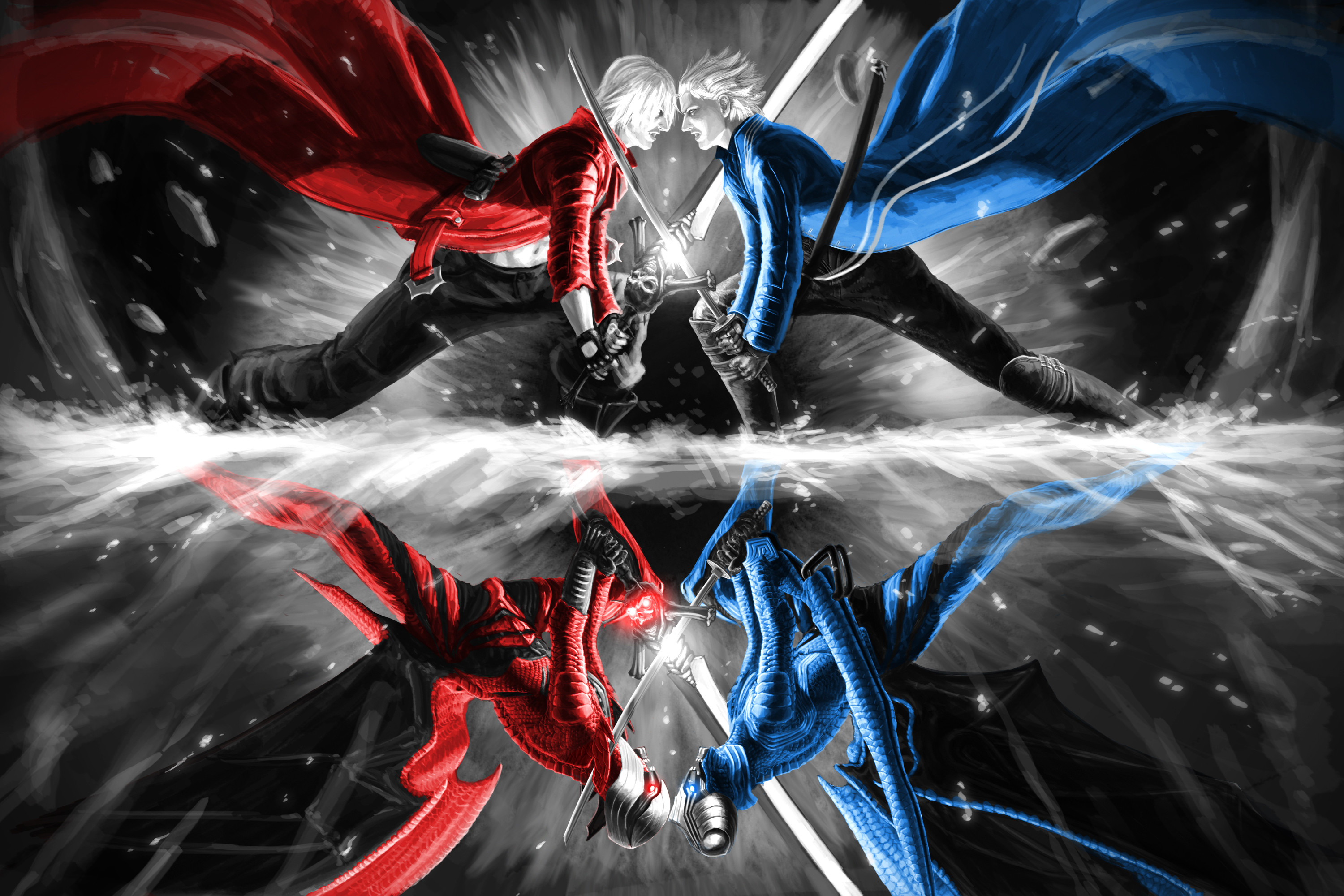 Dante devil may cry wallpaper dante voltagebd Images