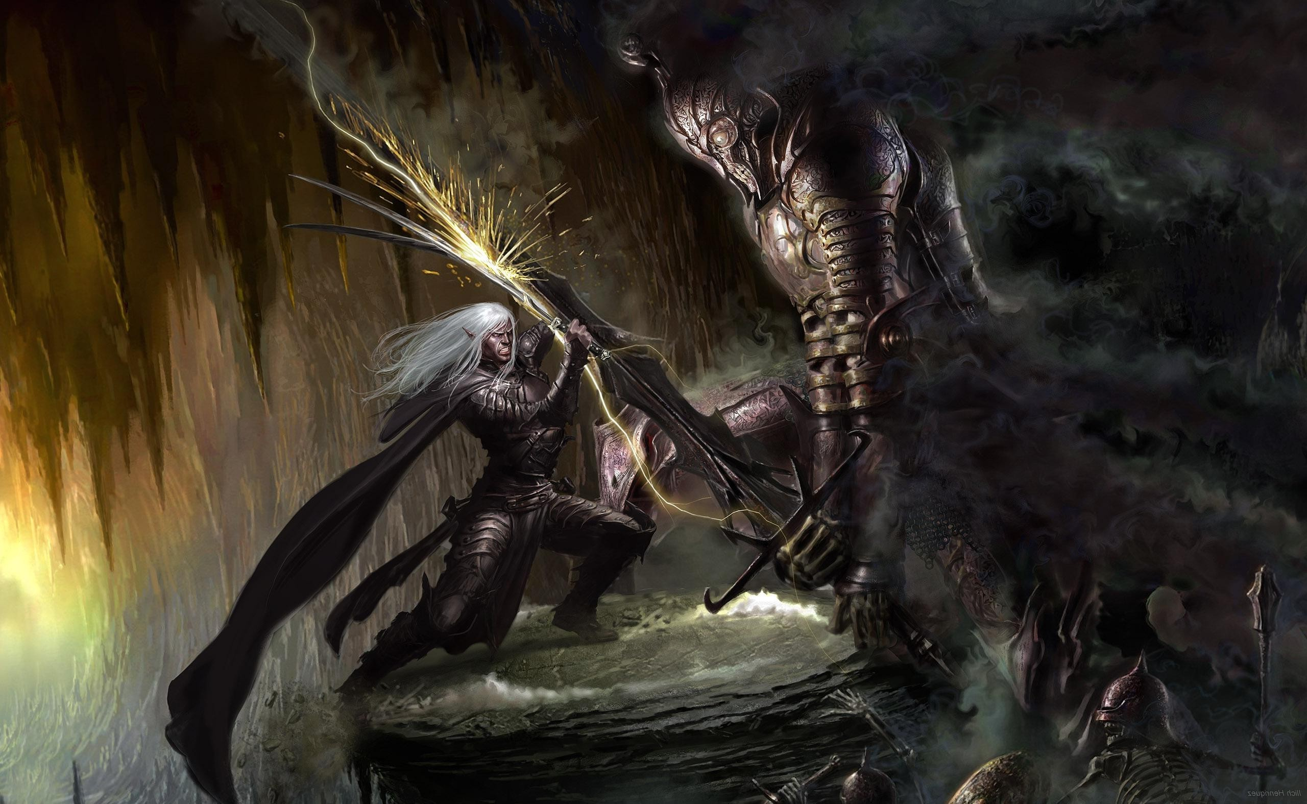 Dungeons And Dragons Wallpaper Hd: Drizzt Wallpapers ·①