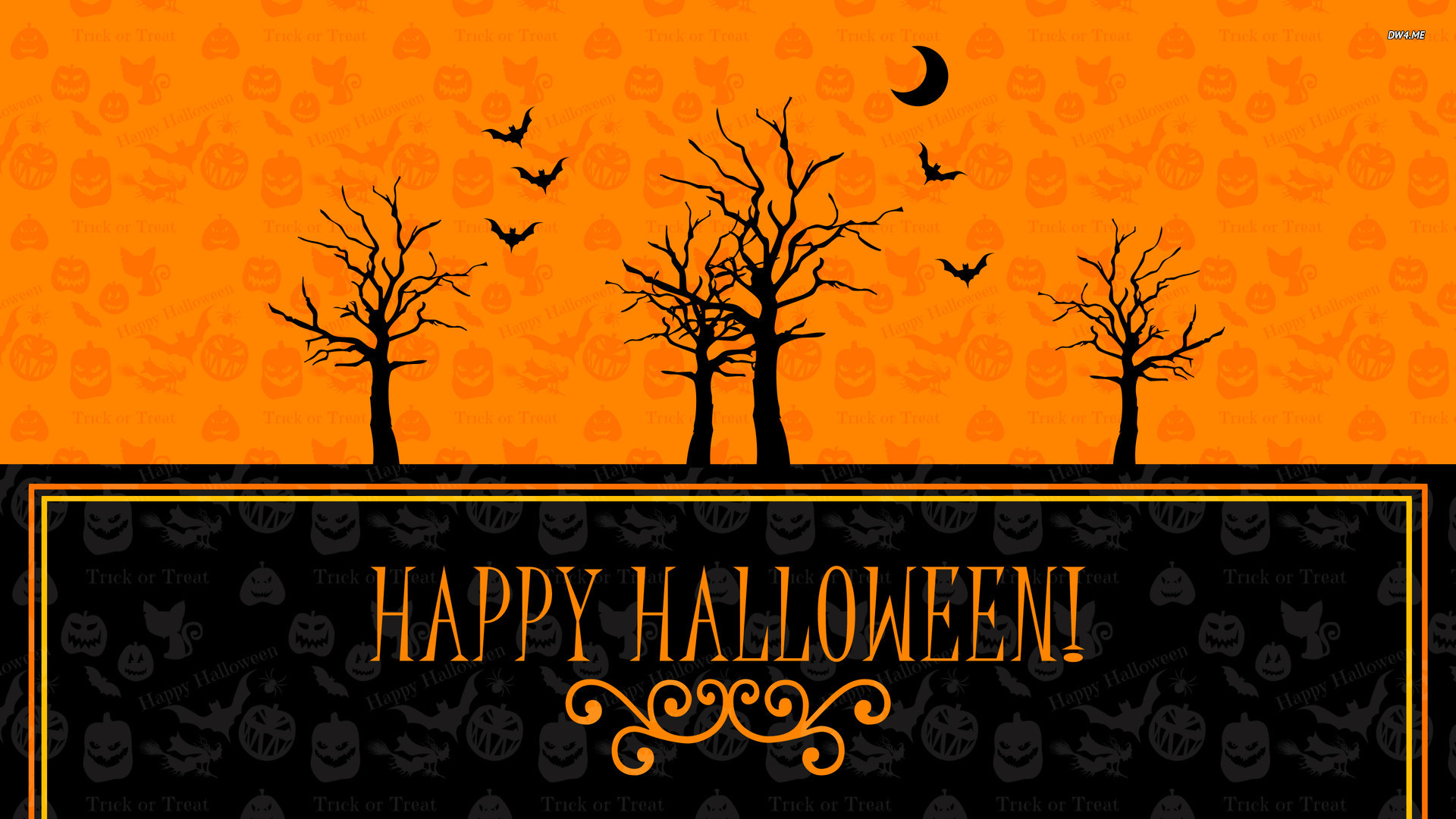 Scary Halloween 2012 Witches HD Wallpaper 2