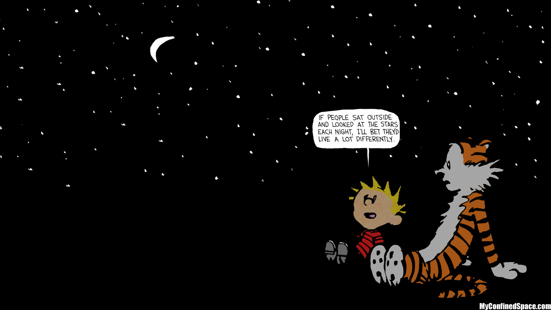 Calvin And Hobbes Desktop Wallpaper Wallpapertag