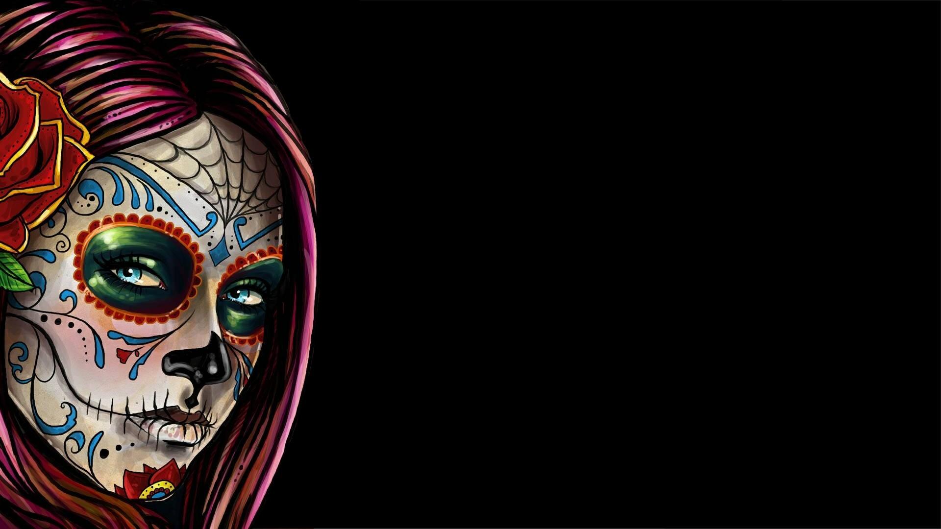 Sugar Skull Wallpaper 1 Download Free Cool Full HD Wallpapers For
