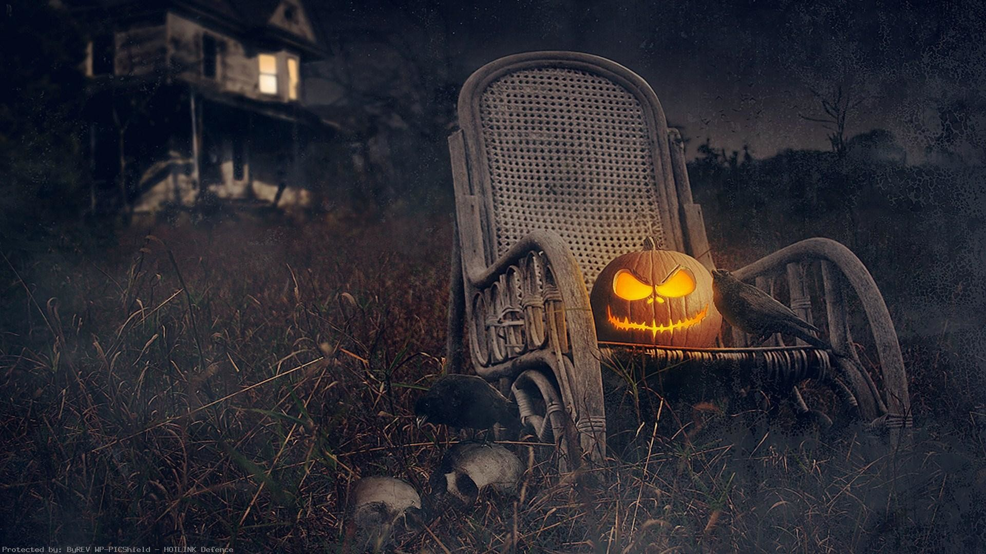 Scary Halloween Wallpaper HD ·①