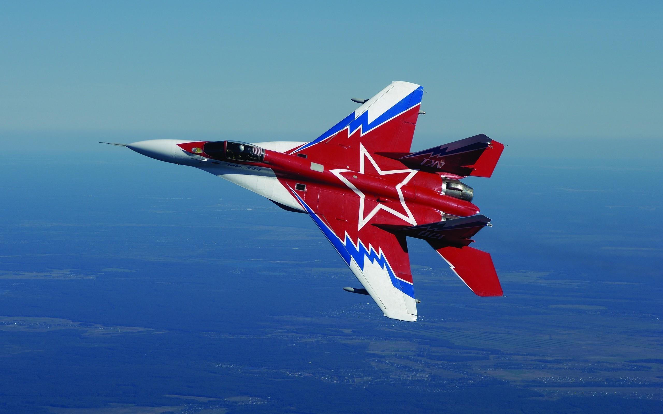 самолет ВВС РФ МиГ-35 Микоян  № 3741381 загрузить