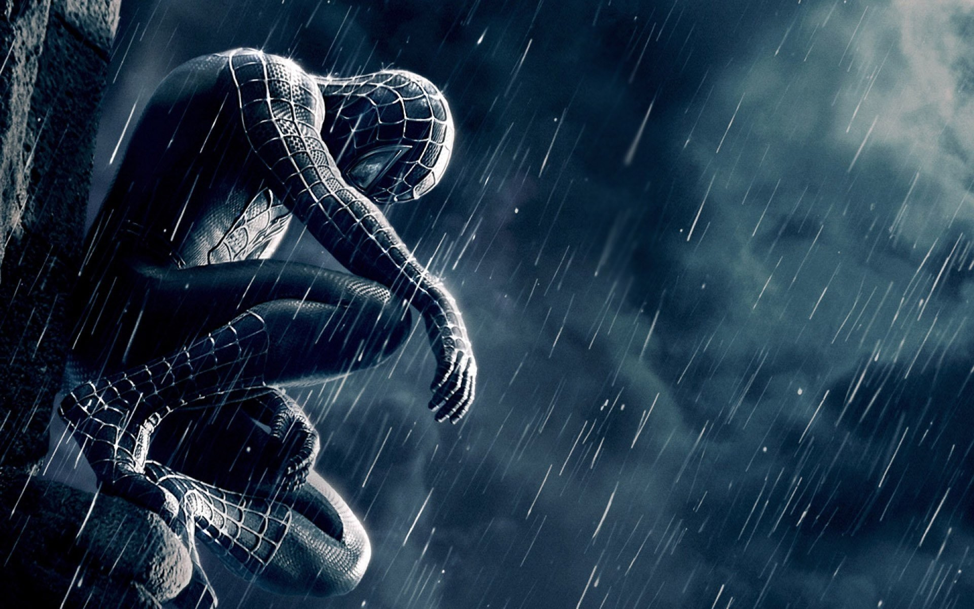 Spider man 3 wallpaper wallpapertag - Black and white spiderman wallpaper ...