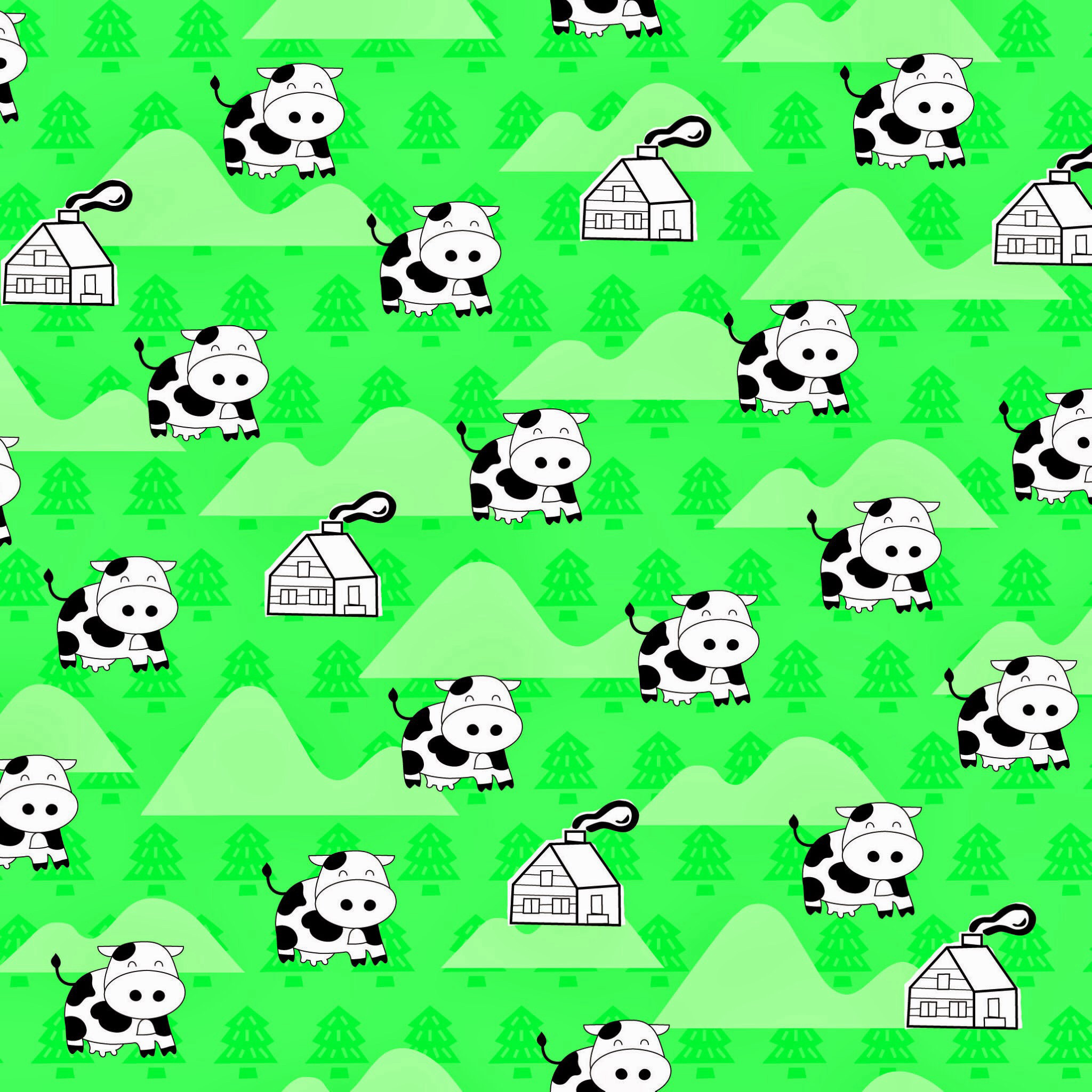 Cute Cow Wallpaper ·① WallpaperTag
