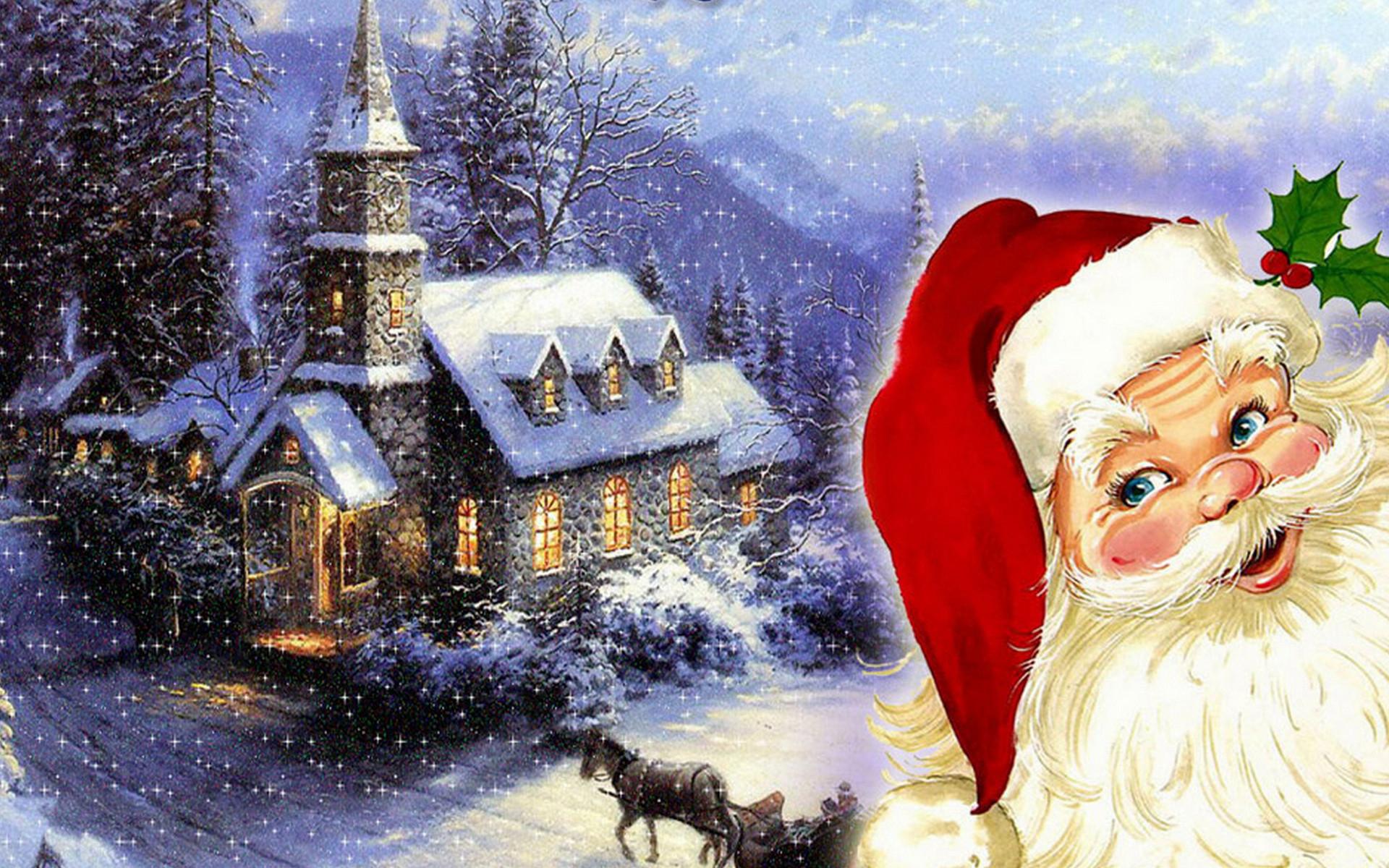 Santa desktop wallpaper 1920x1200 merry christmas santa claus hd wallpaper wallpaper download 18 voltagebd Choice Image