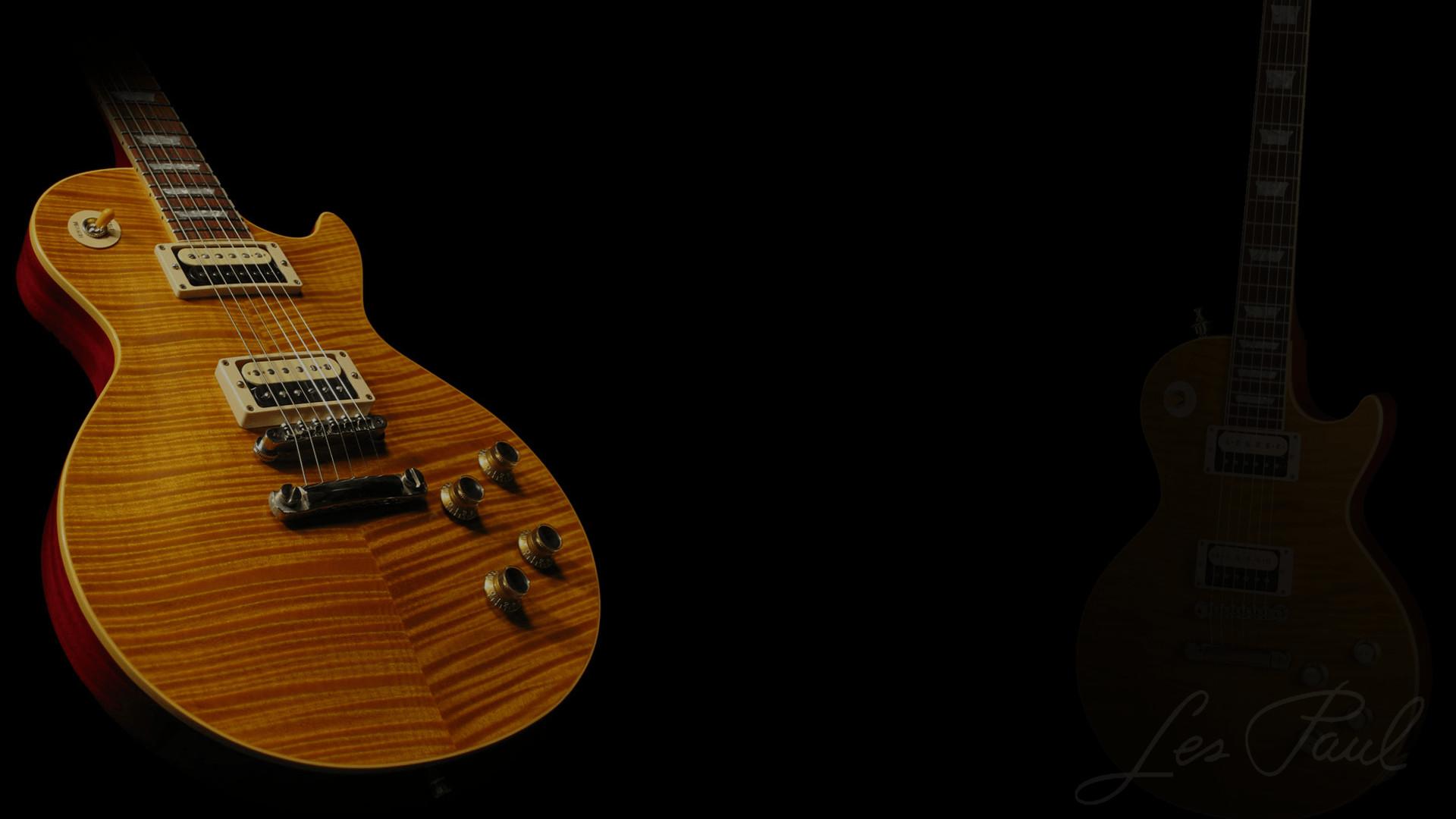 Les Paul Guitar Wallpaper ①