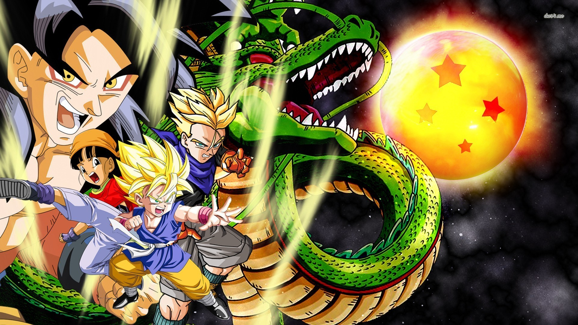 Dragon Ball Gt HD Wallpapers ·① WallpaperTag