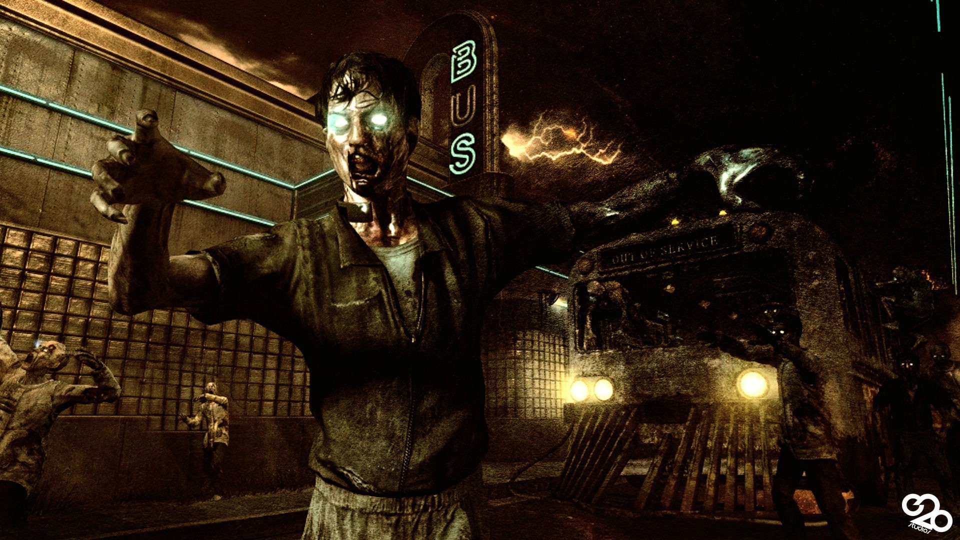 Zombies Wallpaper 1920x1080 Black Ops Zombi...