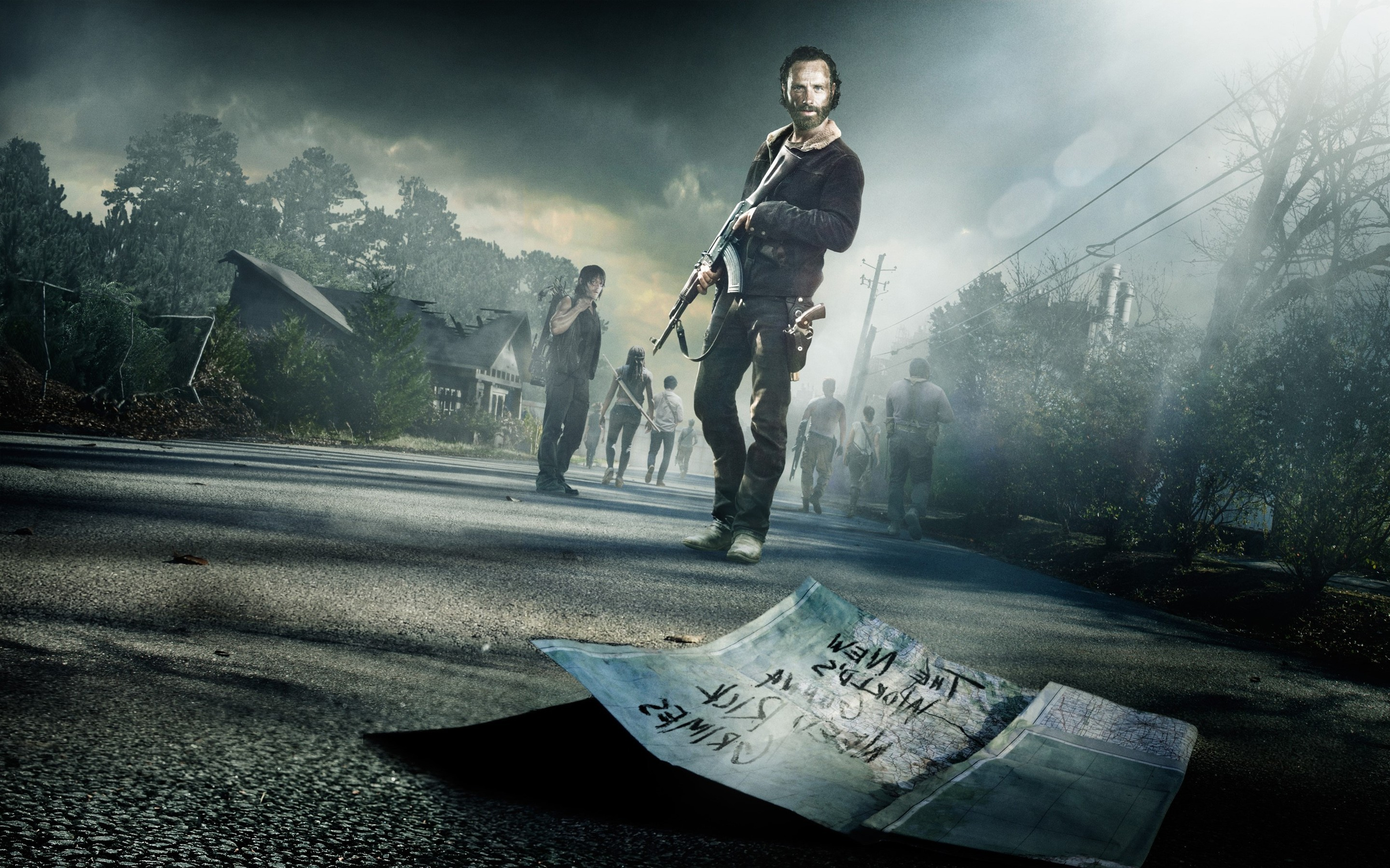 The Walking Dead Wallpaper ·① Download Free Stunning