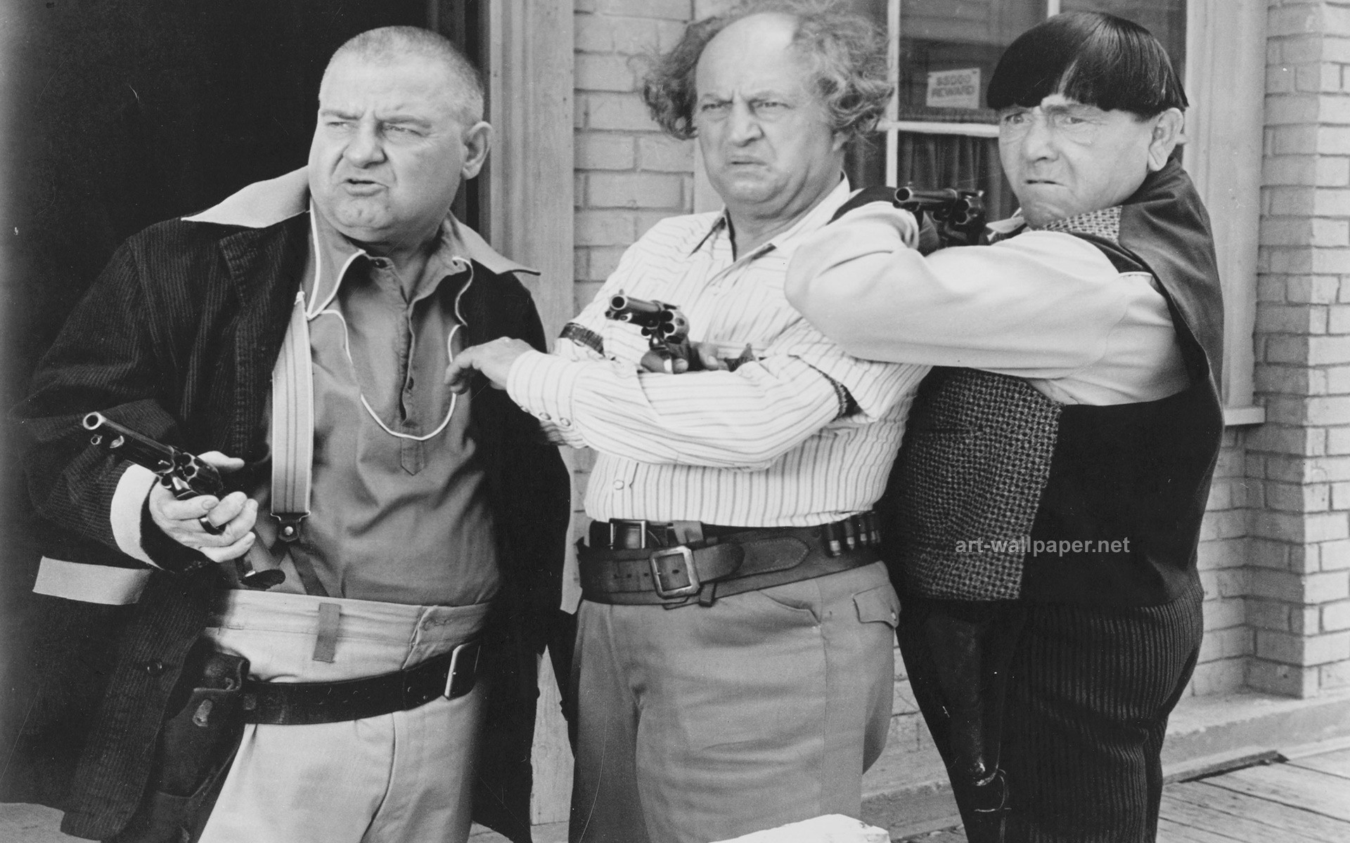 the three stooges wallpaper