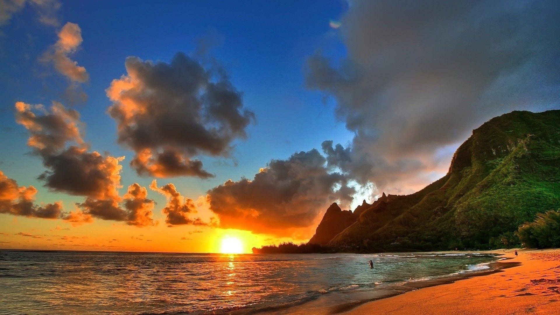 35 desktop backgrounds beach download free beautiful for Sfondi 1920x1080