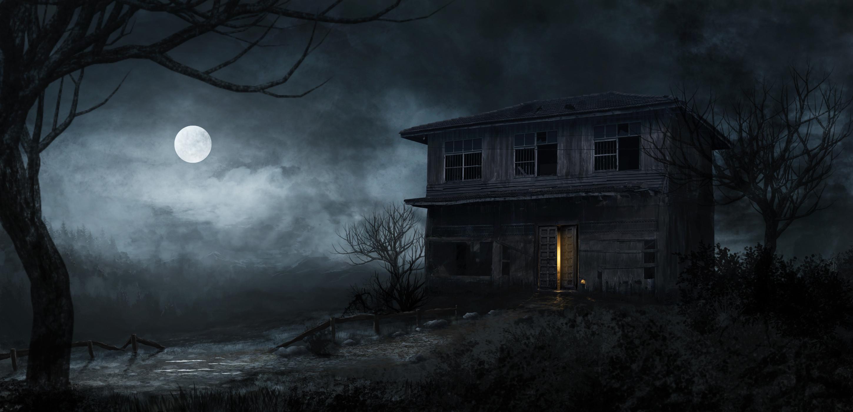 Haunted House Wallpaper ·① WallpaperTag