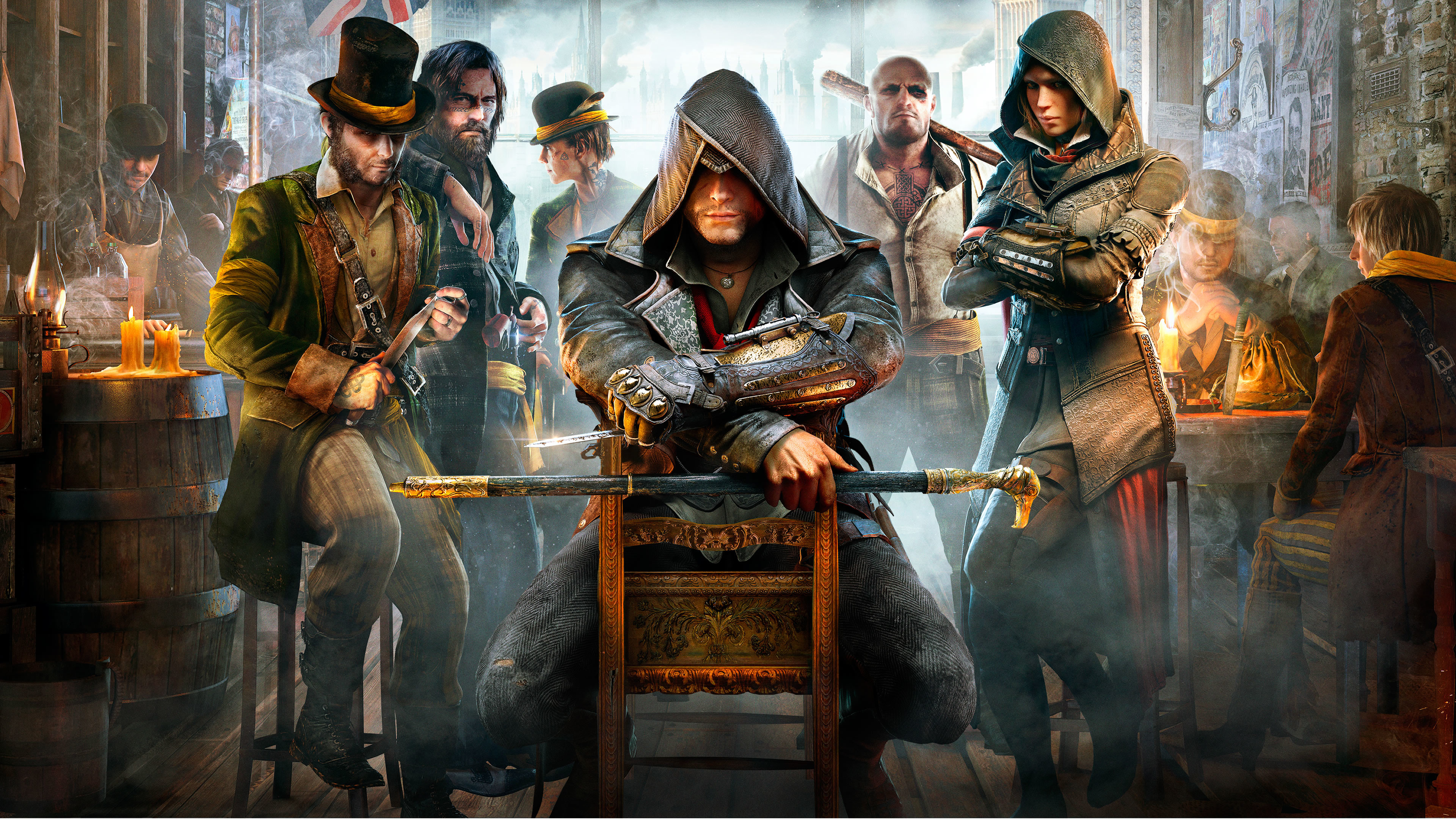 Assassins Creed Syndicate Wallpapers Wallpapertag Images, Photos, Reviews