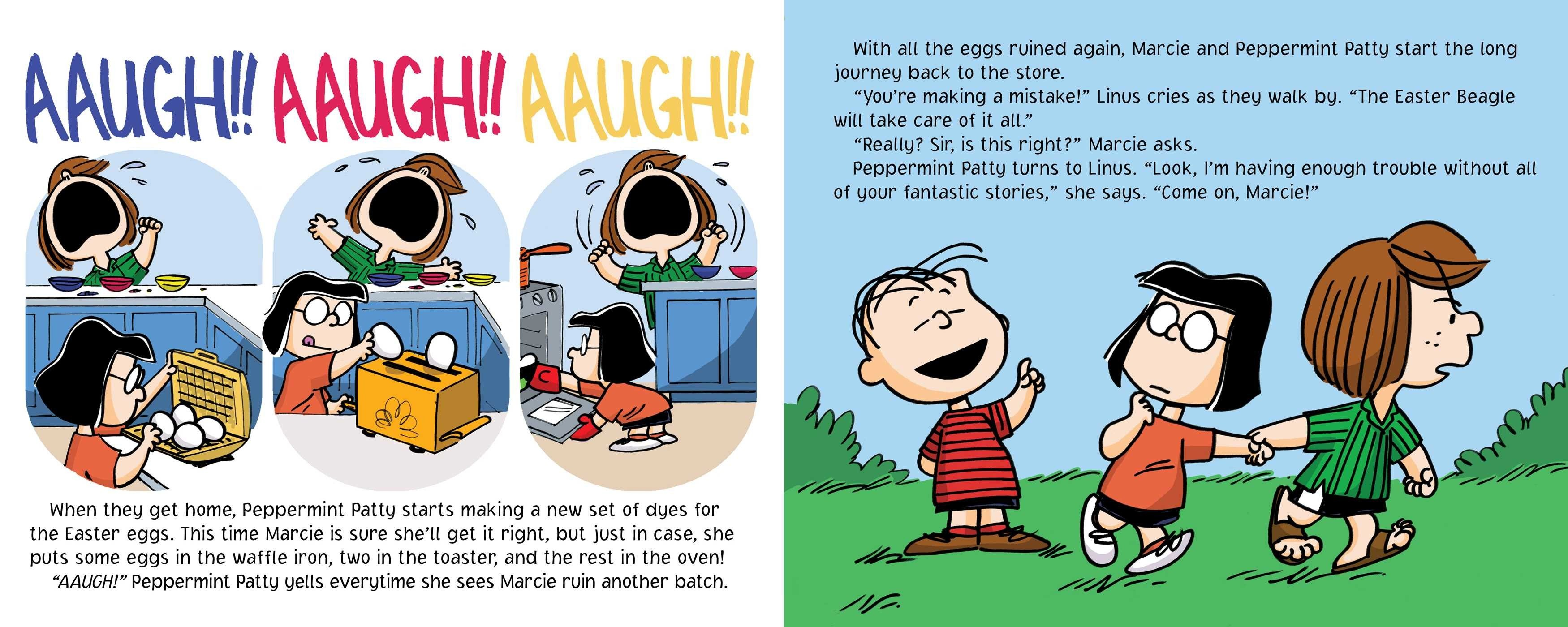 Peanuts Easter Wallpaper