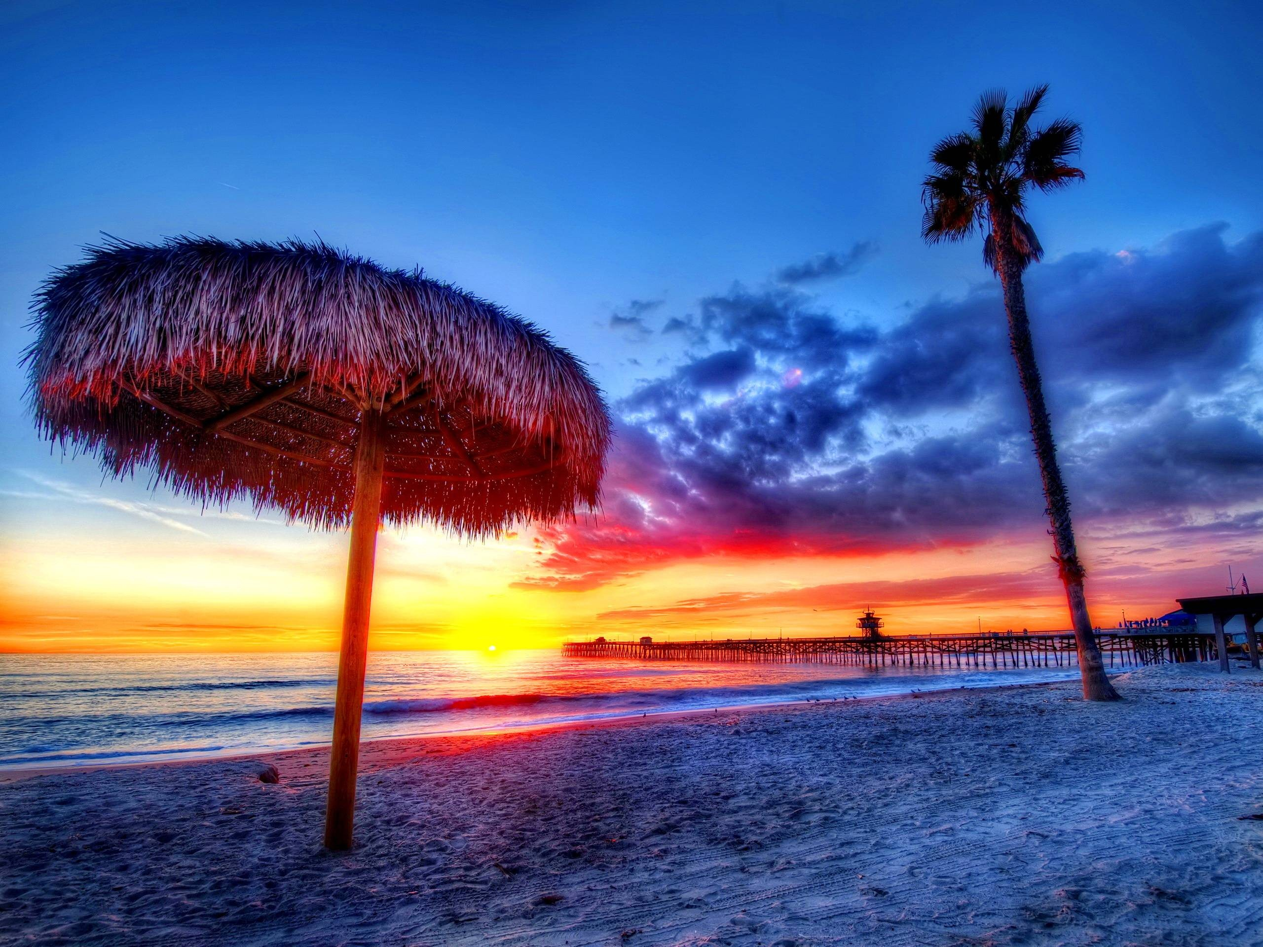 Hd Tropical Island Beach Paradise Wallpapers And Backgrounds: 62+ Sunset Backgrounds ·① Download Free Beautiful Full HD