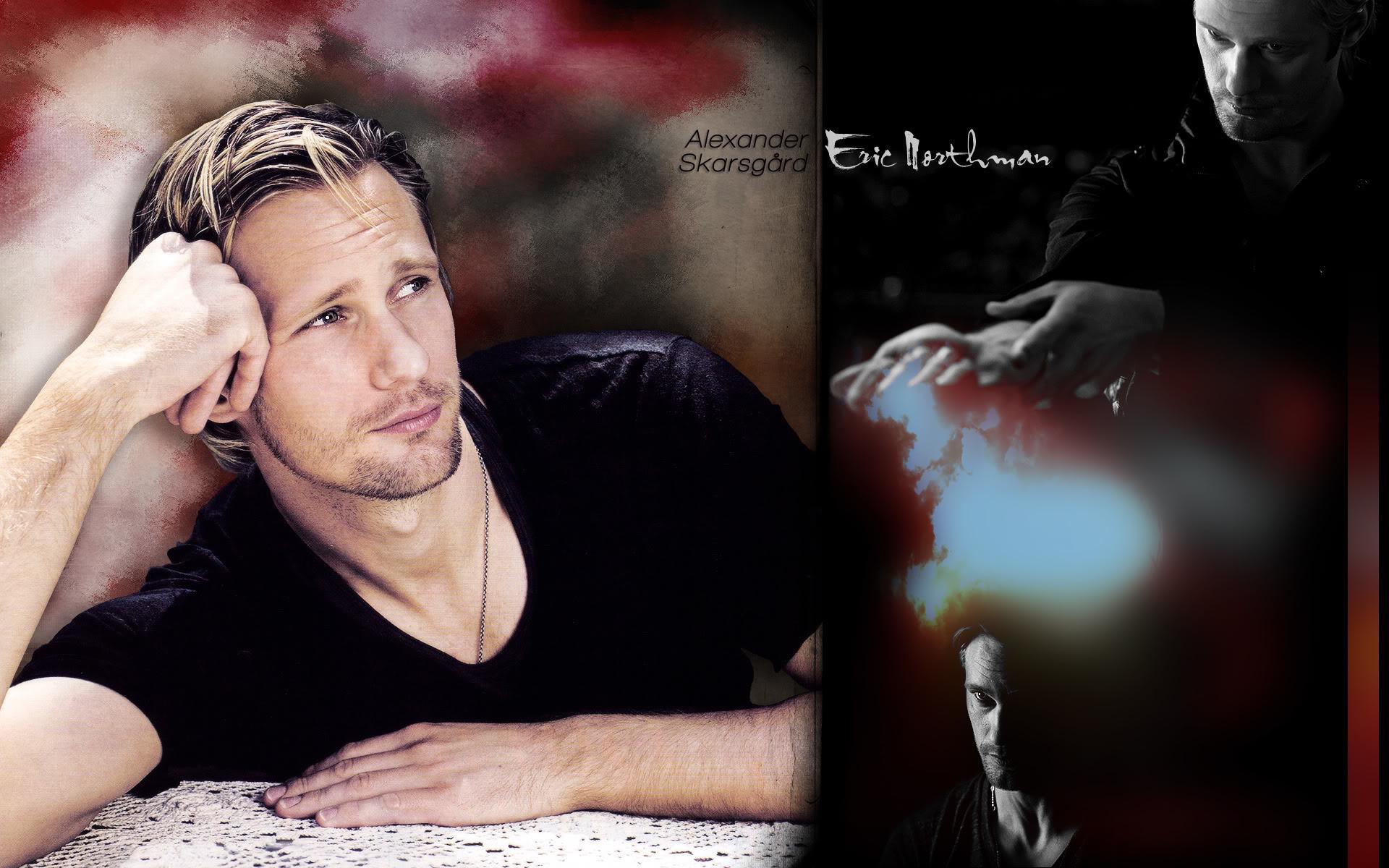 Eric Northman True Blood Wallpaper ·①