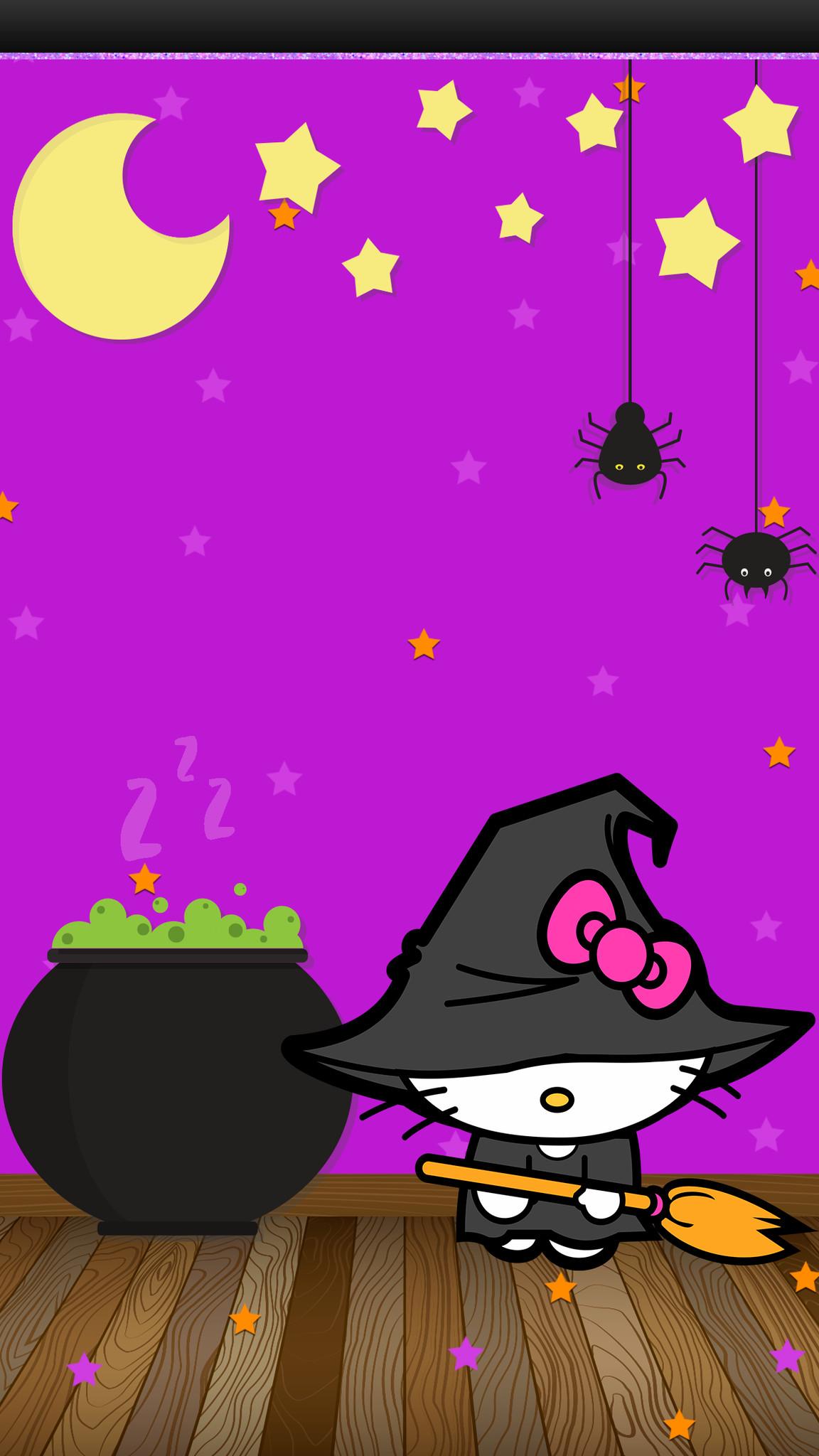 Hello kitty halloween backgrounds - Hello kitty halloween ...