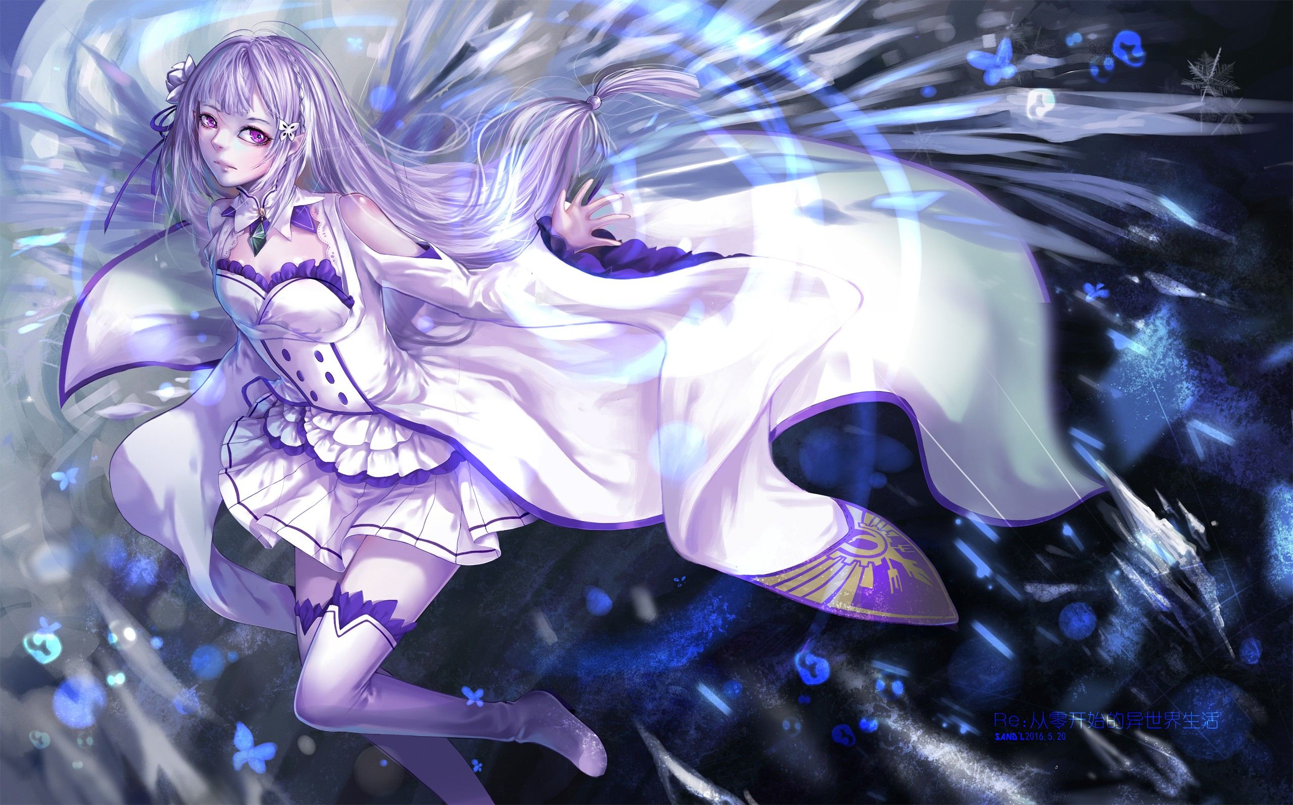 Re zero wallpaper download free cool hd wallpapers for - Download anime wallpaper hd for android ...