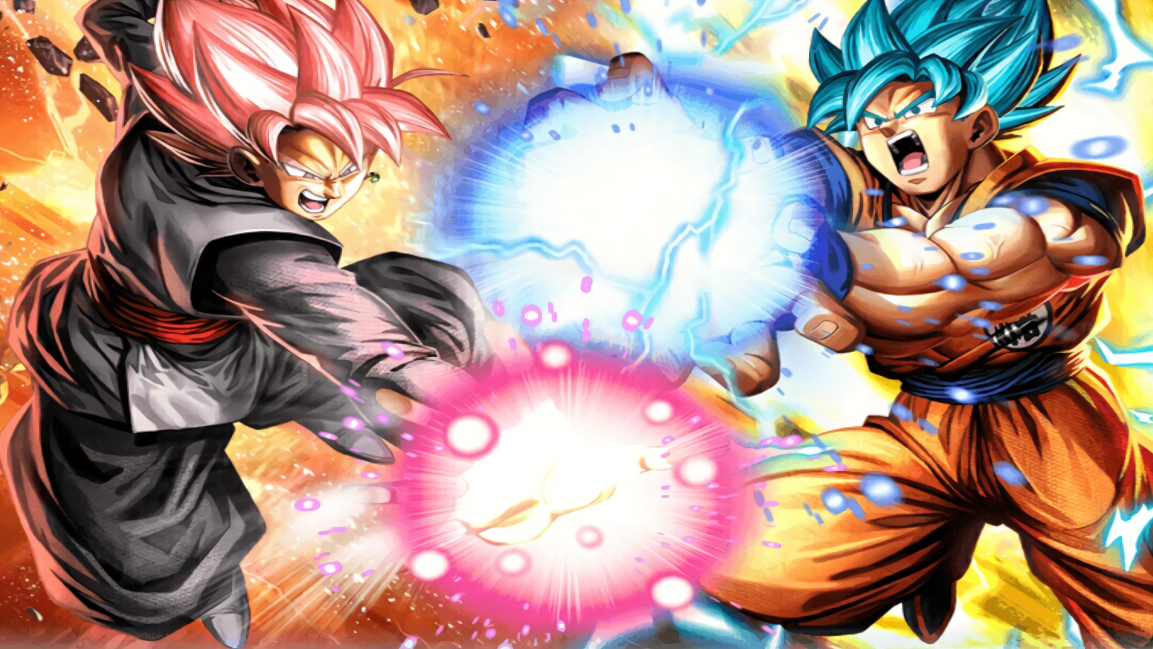 Black Goku Fondo De Pantalla And Fondo De Escritorio: Goku Black Wallpapers ·①