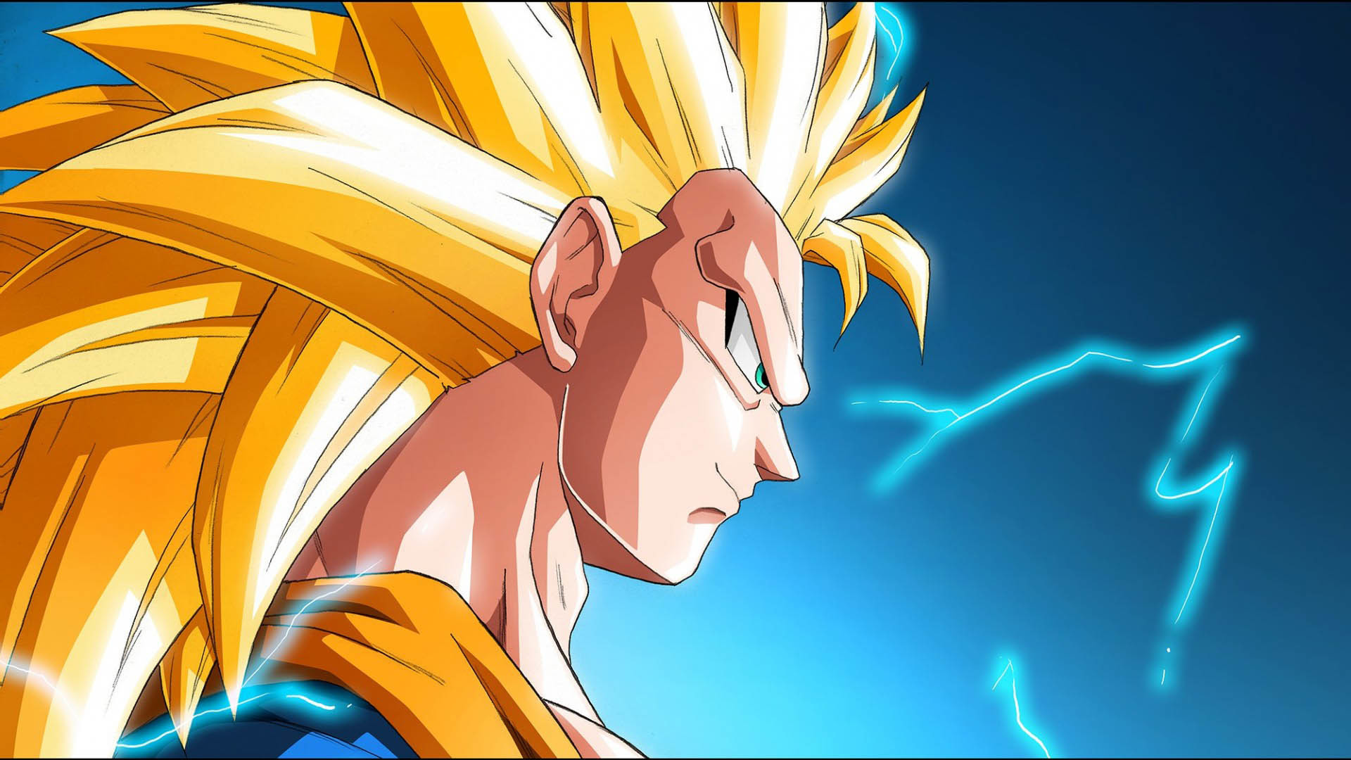 1920x1080 Son Goku Super Saiyan 3 Wallpaper Download