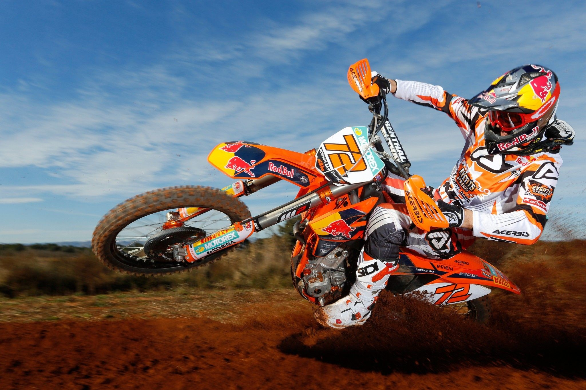 Wallpaper motocross ktm - Moto crosse ktm ...