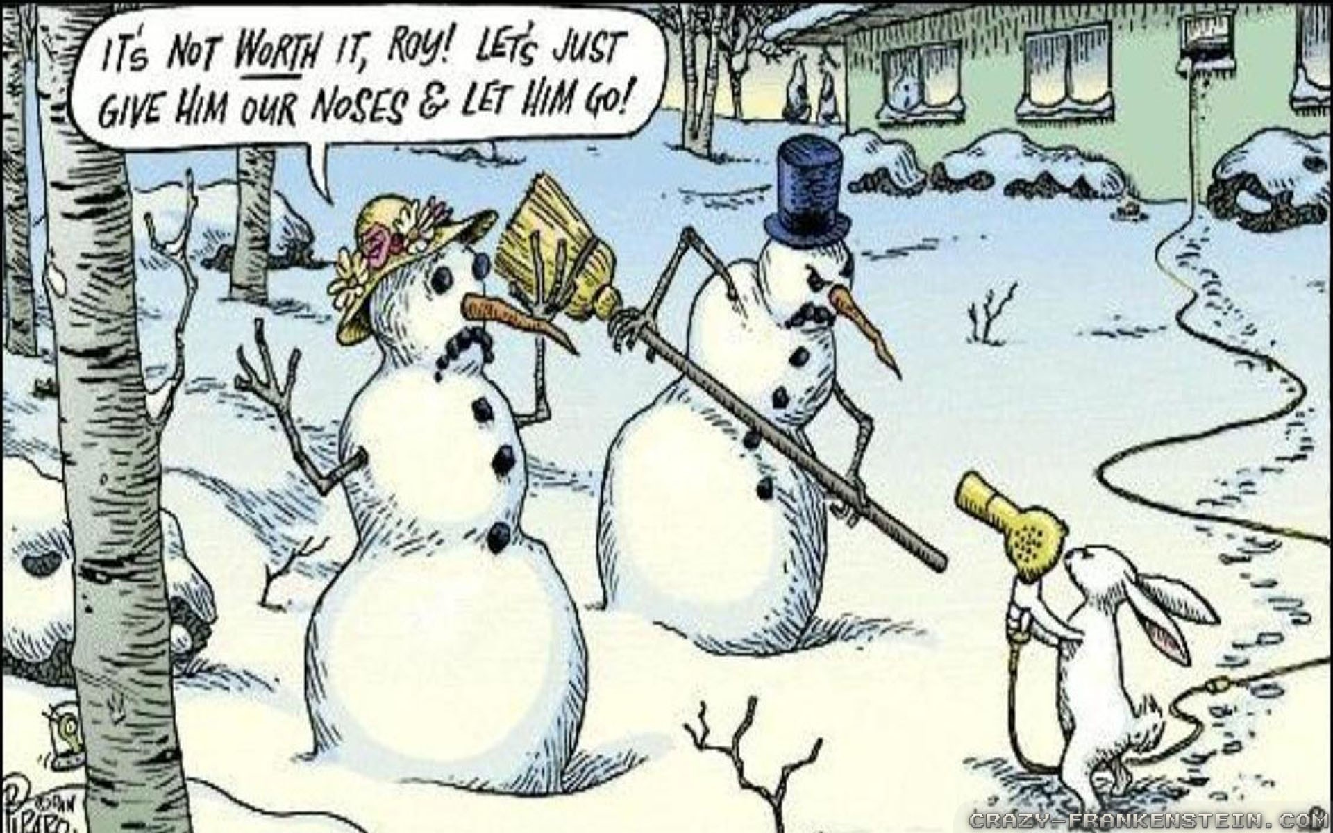 funny 695585 - Funny Christmas Wallpaper