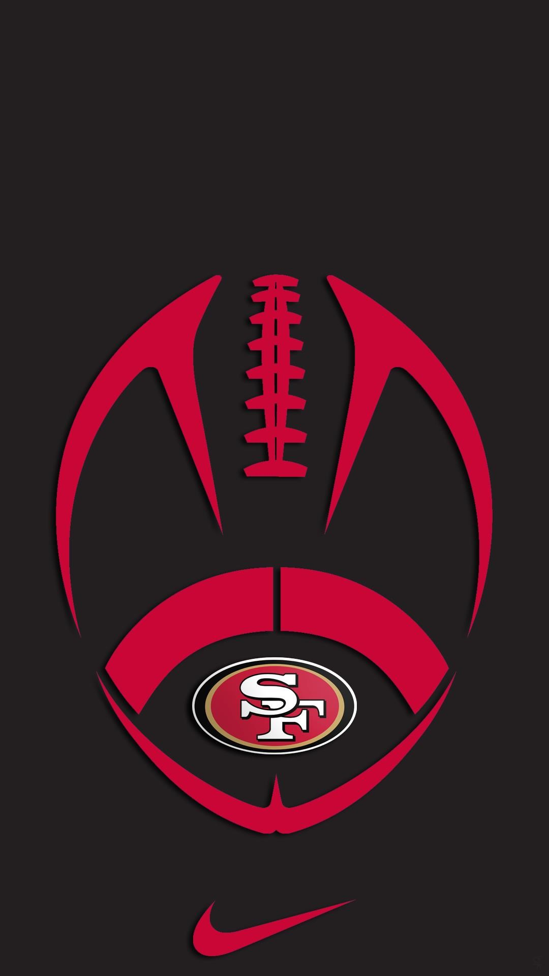 49ers logo wallpaper wallpapertag - 49ers wallpaper hd ...