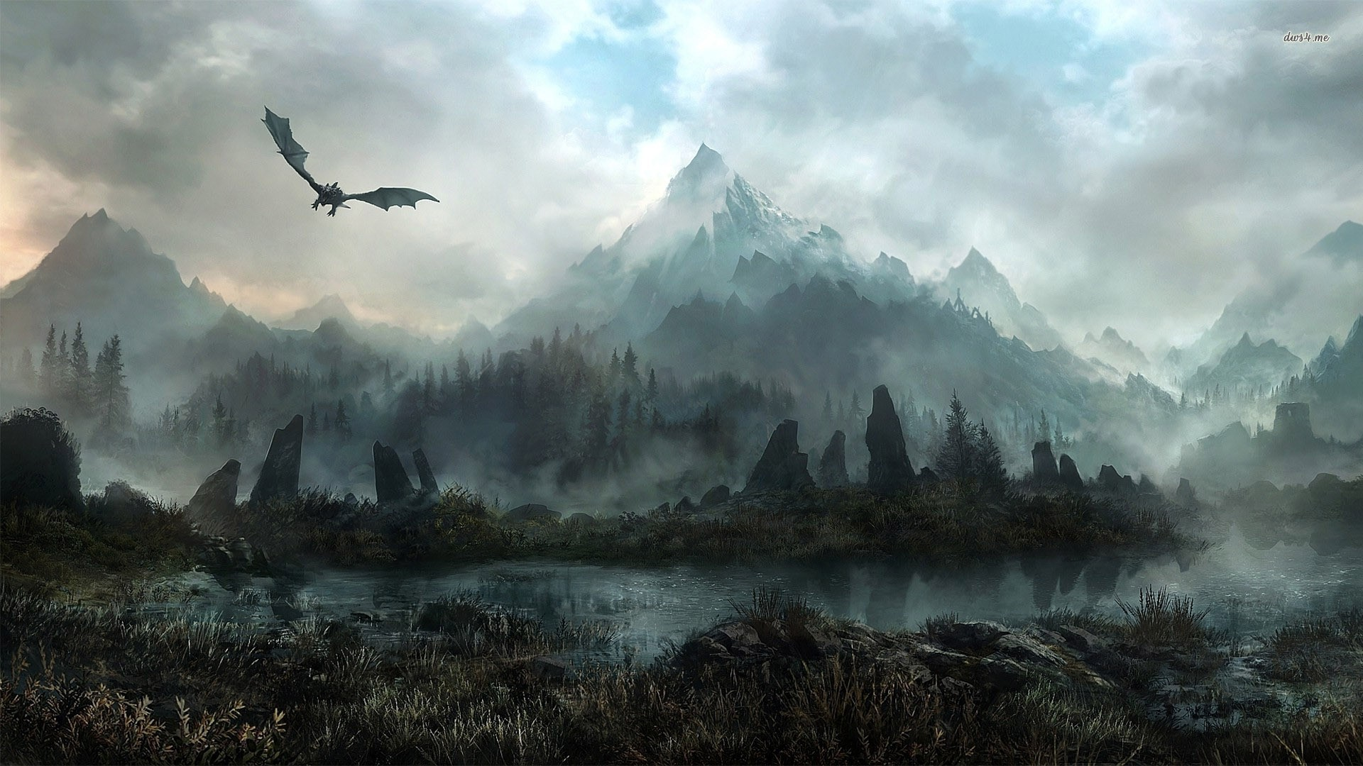 skyrim hd wallpaper ·① download free beautiful high resolution