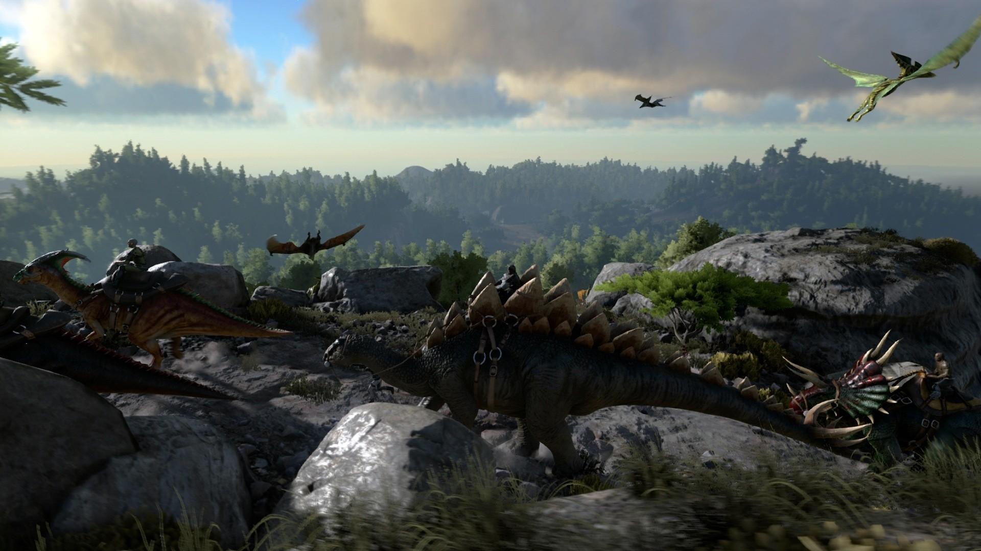 X Ark Survival Evolved Full Hd Wallpaper X