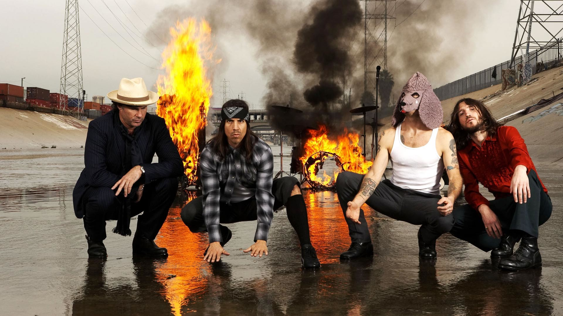 Red Hot Chili Peppers Wallpapers Wallpapertag