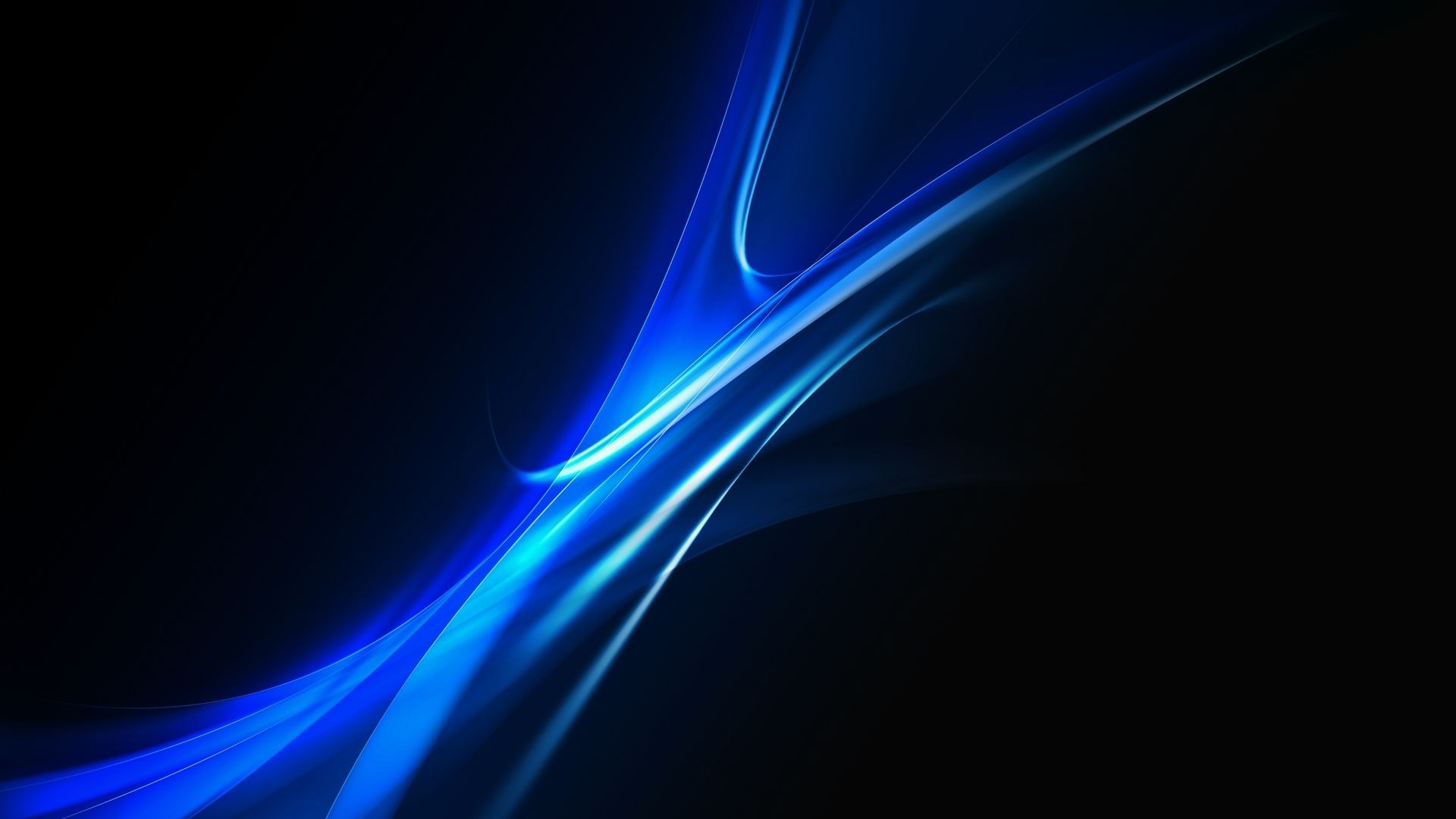 1920x1080 Blue Abstract Wallpaper