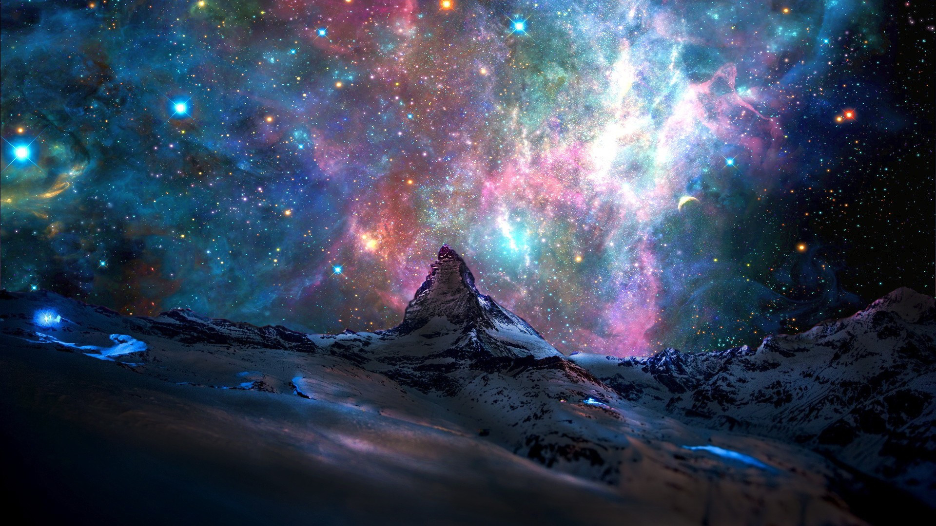 Outer Space Desktop Backgrounds \u00b7\u2460