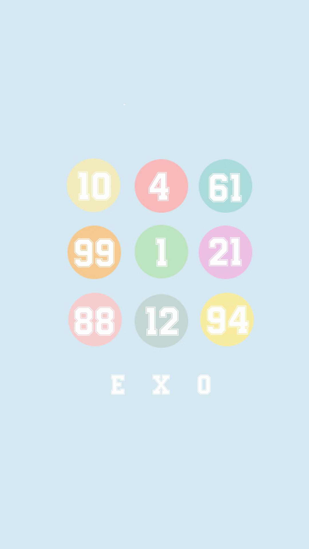 Exo Wallpaper Iphone Group Of Exo Wallpaper On Tumblr Exo Logo