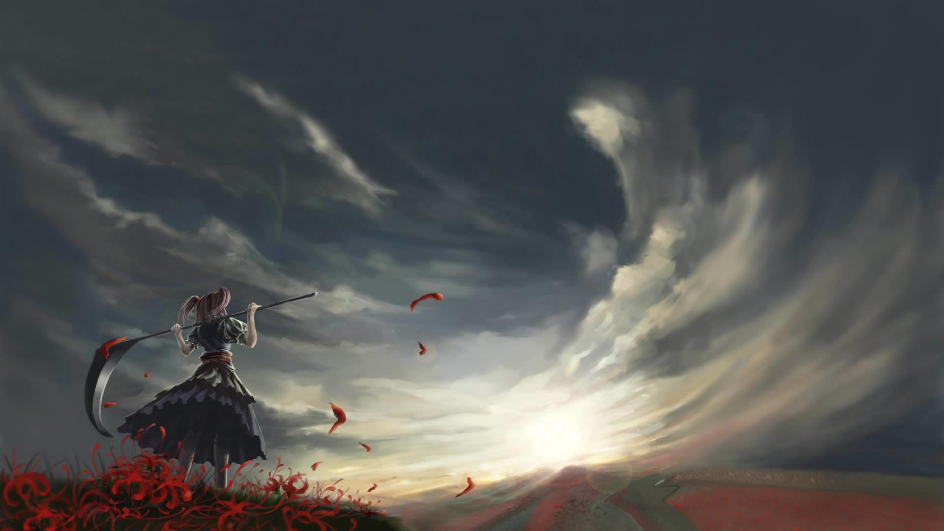 Beautiful anime wallpaper wallpapertag - Anime backdrop wallpaper ...