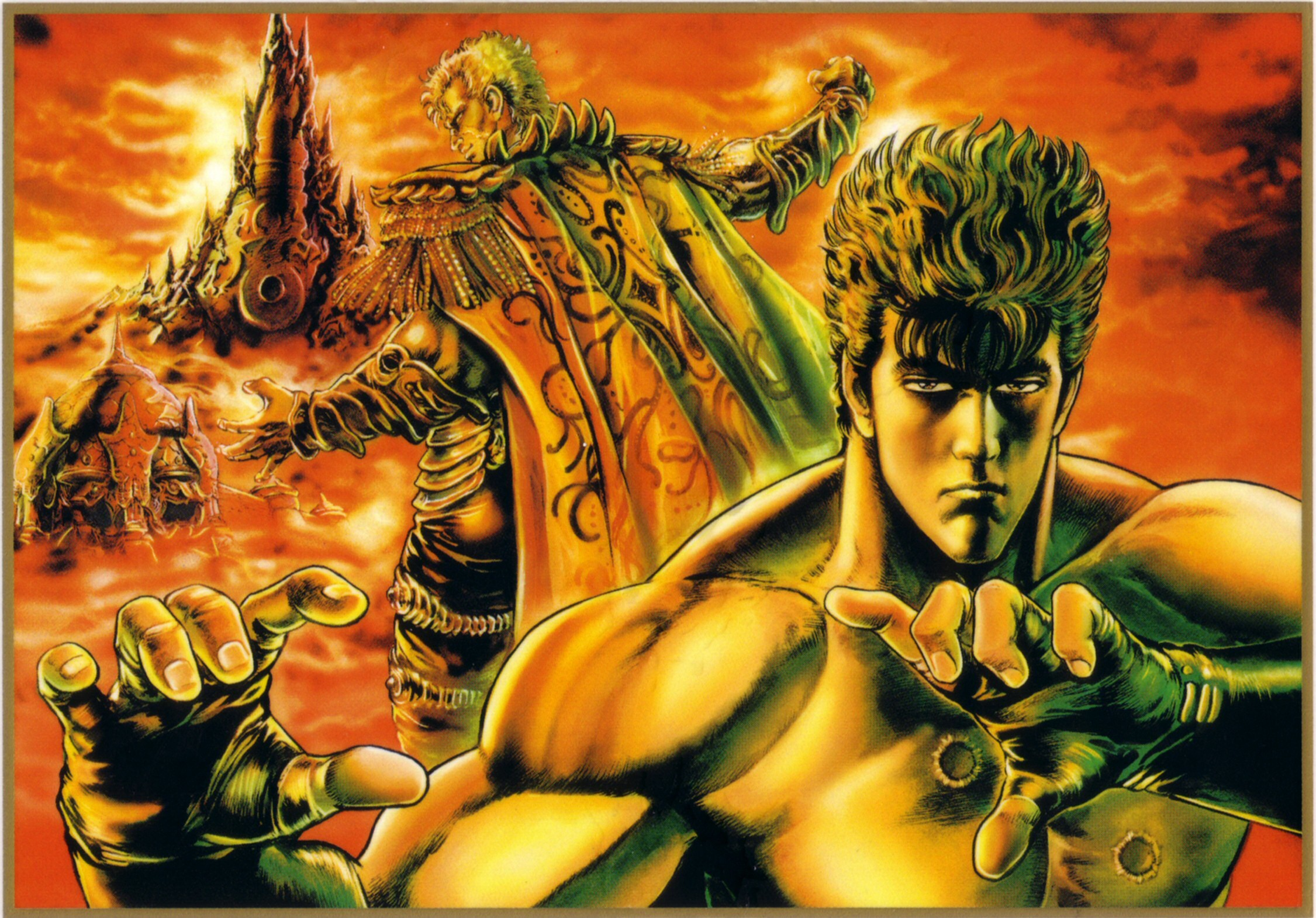 Fist Of The North Star Wallpaper Wallpapertag