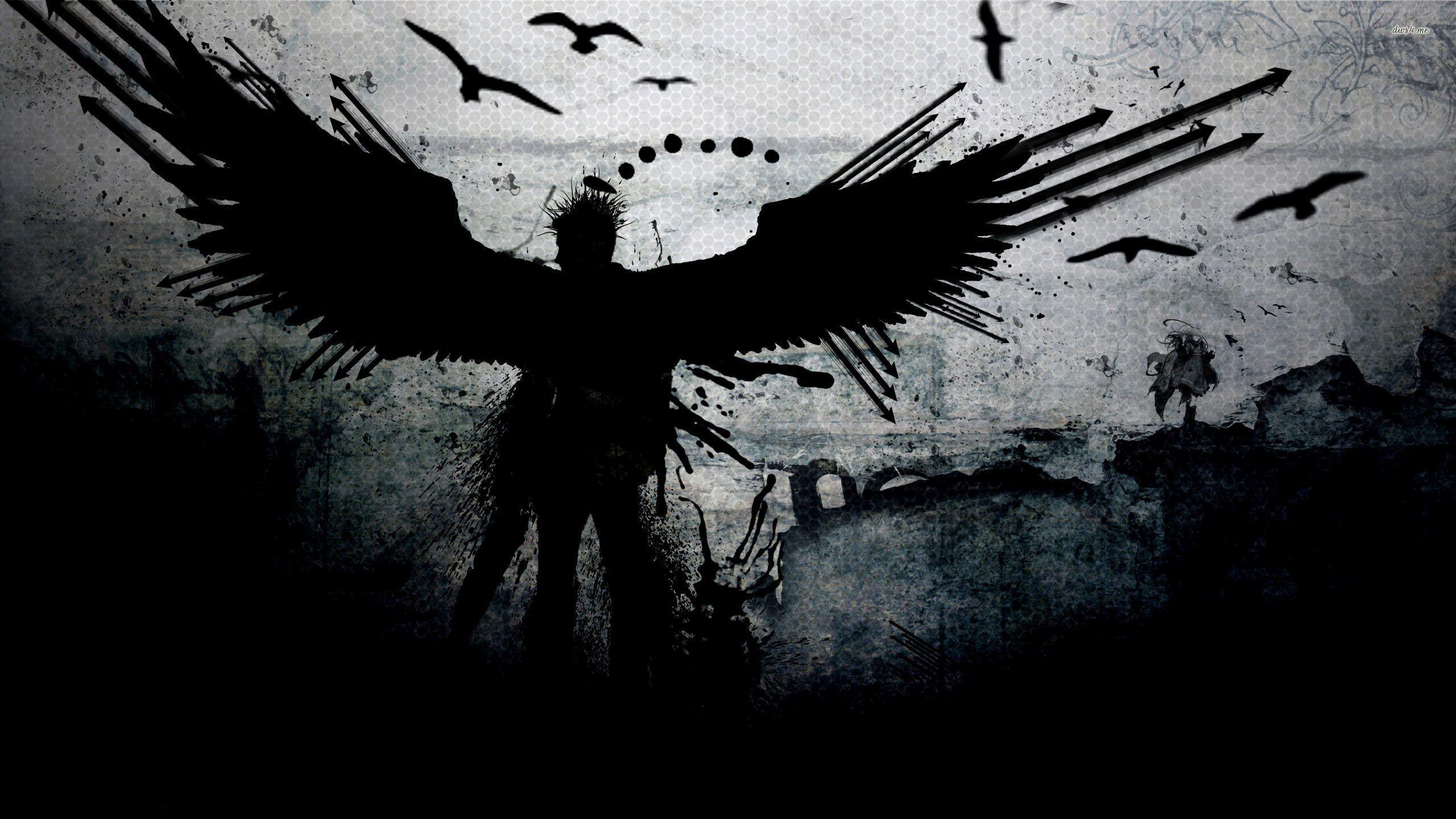 Dark Angel Wallpaper Wallpapertag