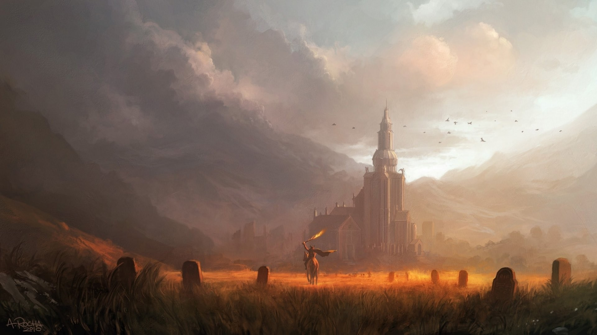 fantasy landscape wallpaper 1920x1080 183�� download free
