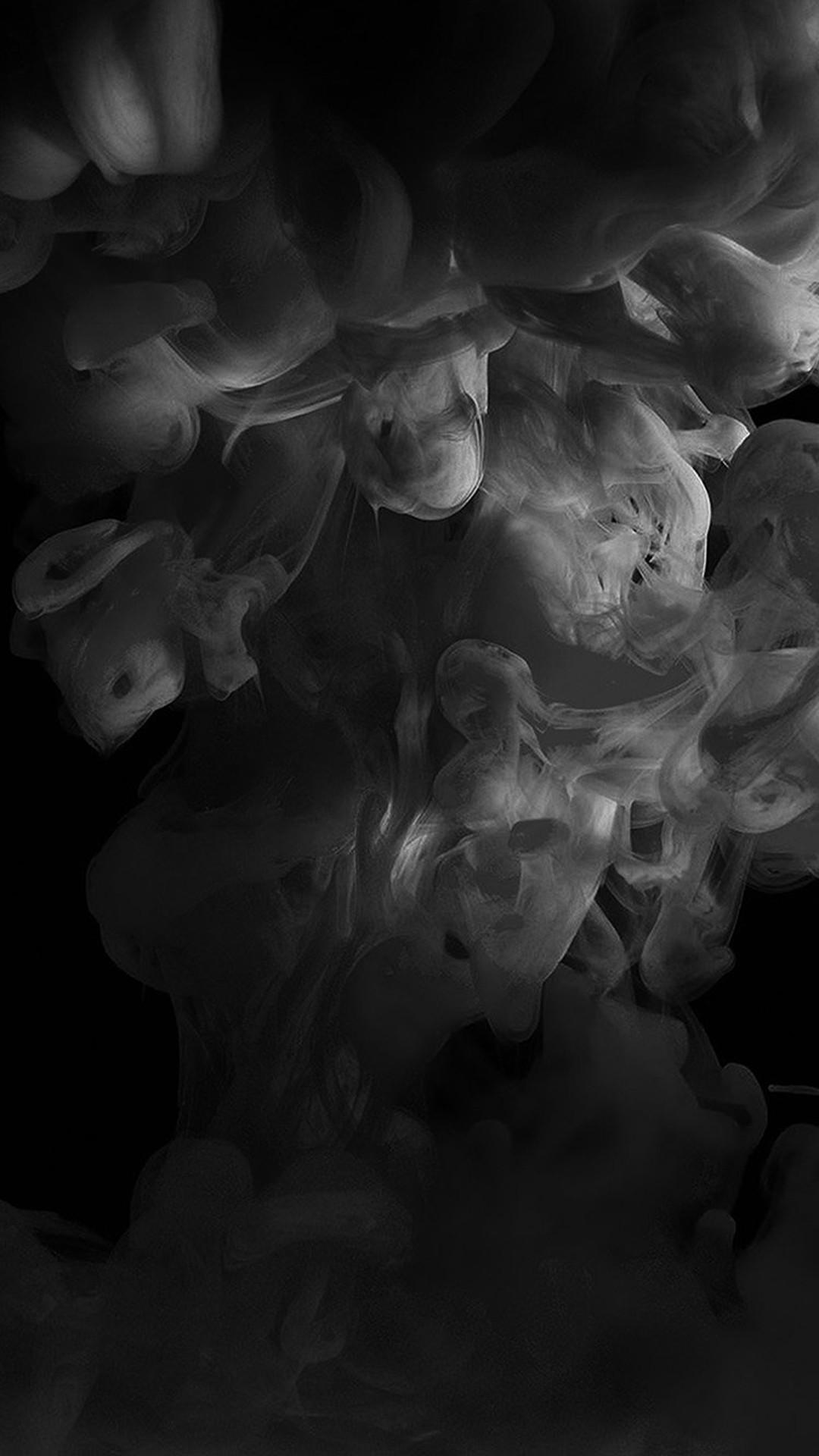 Black Smoke Wallpaper ·①