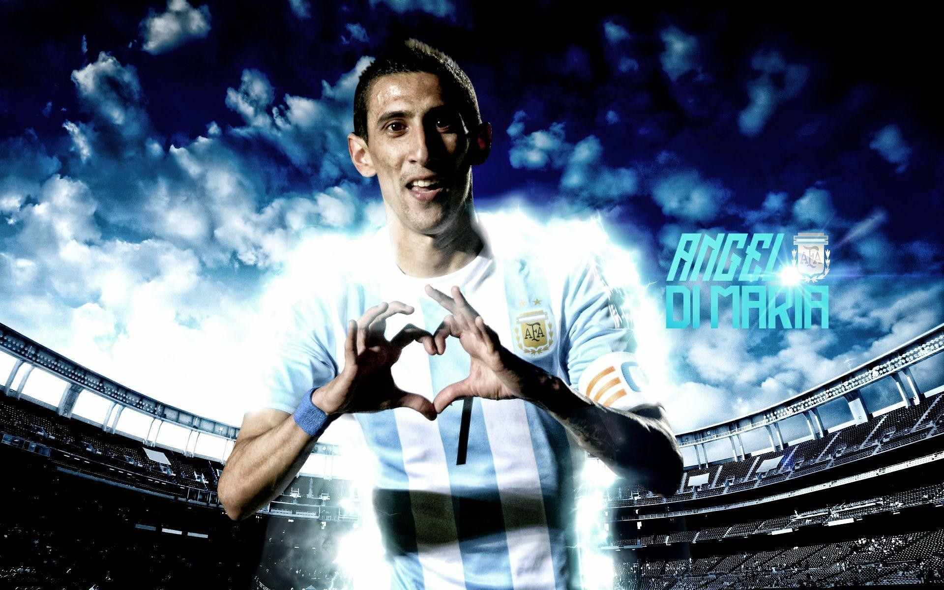 Angel Di Maria Wallpapers ①