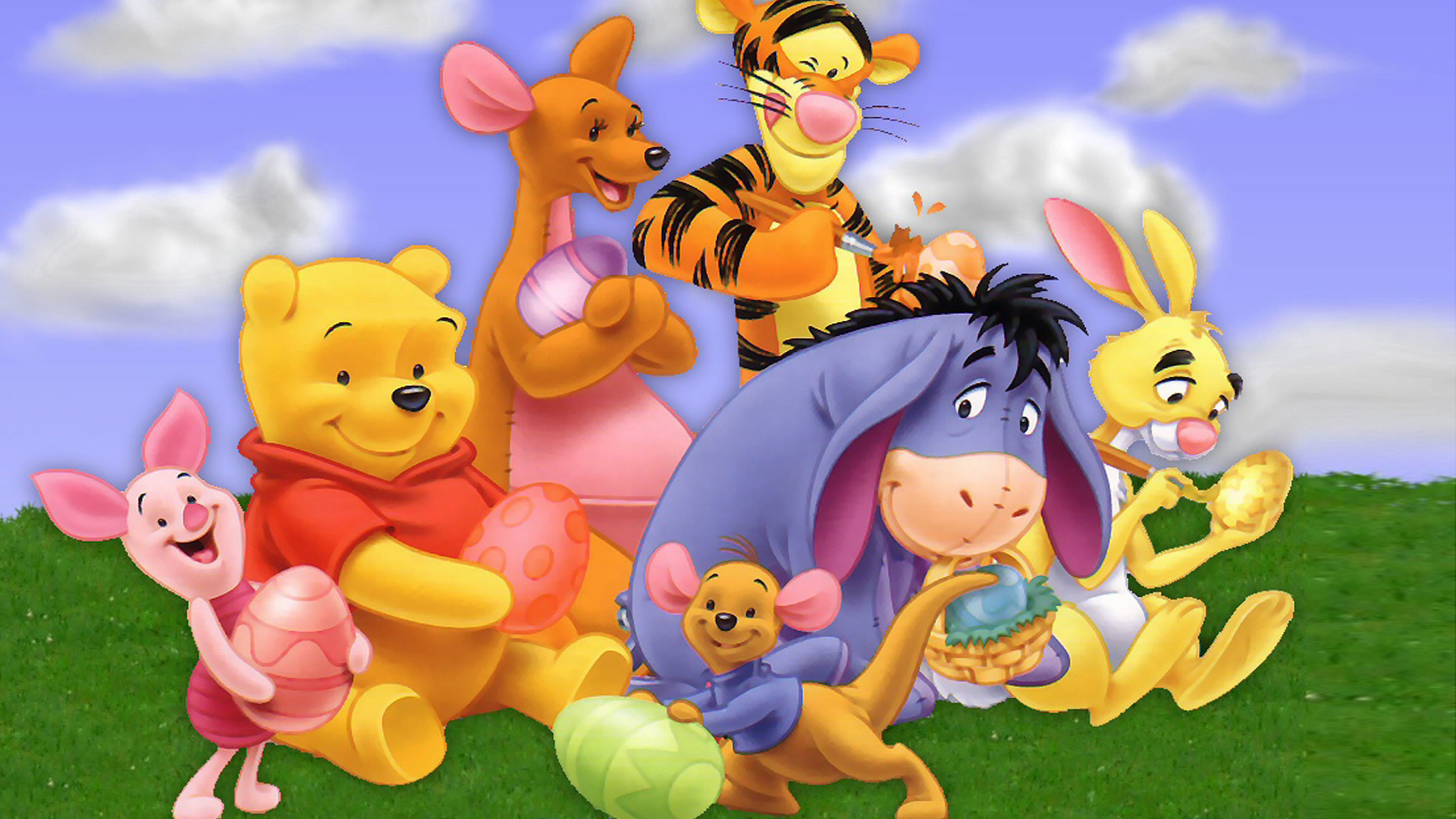 My friends tigger pooh wallpapers 1920x1080 cartoon wallpaper hd of winnie the pooh 8 winnie the pooh cast hd wallpapers download my friends tigger thecheapjerseys Images