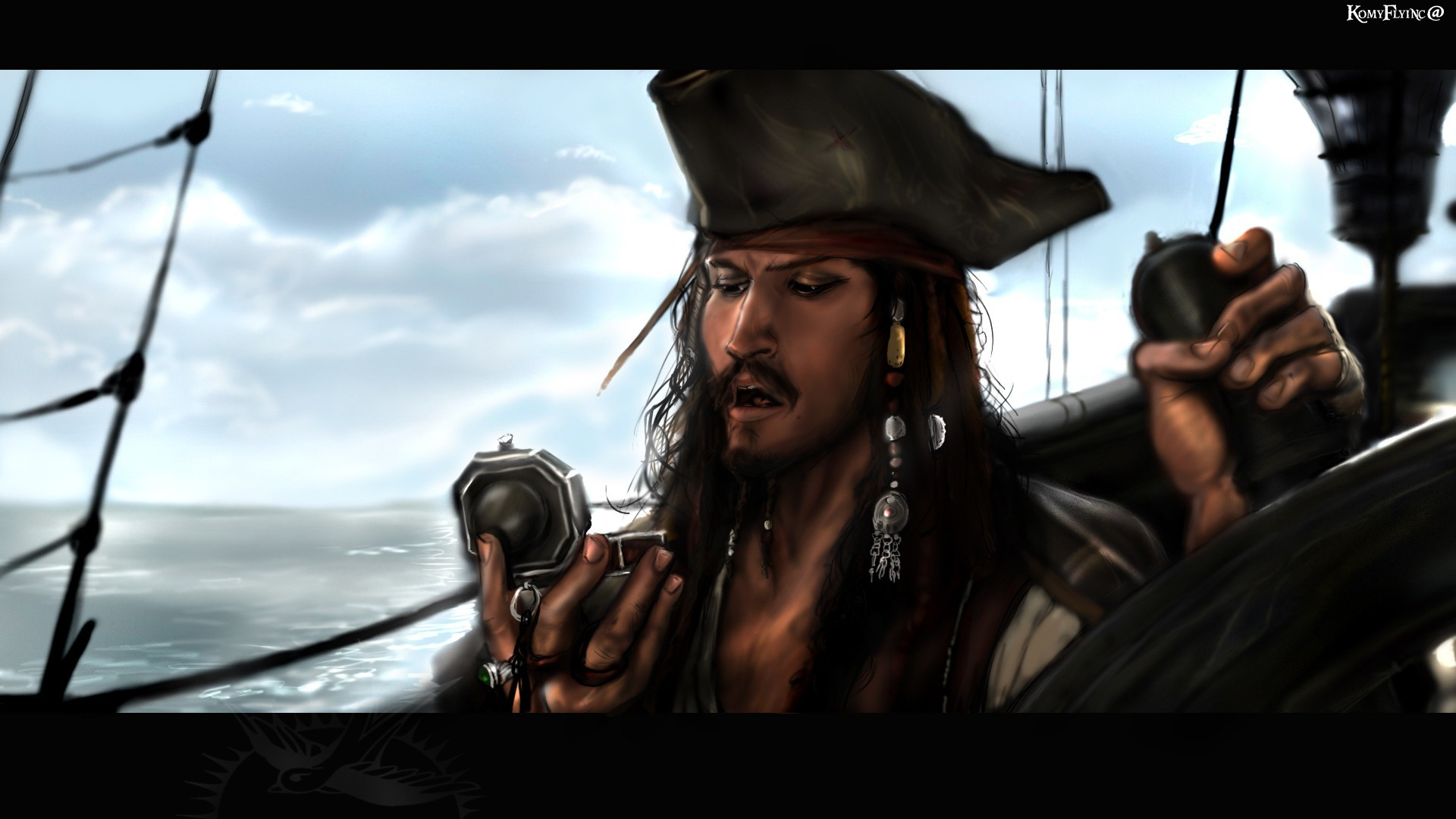 Captain jack sparrow wallpaper wallpapertag - Fan wallpaper download ...