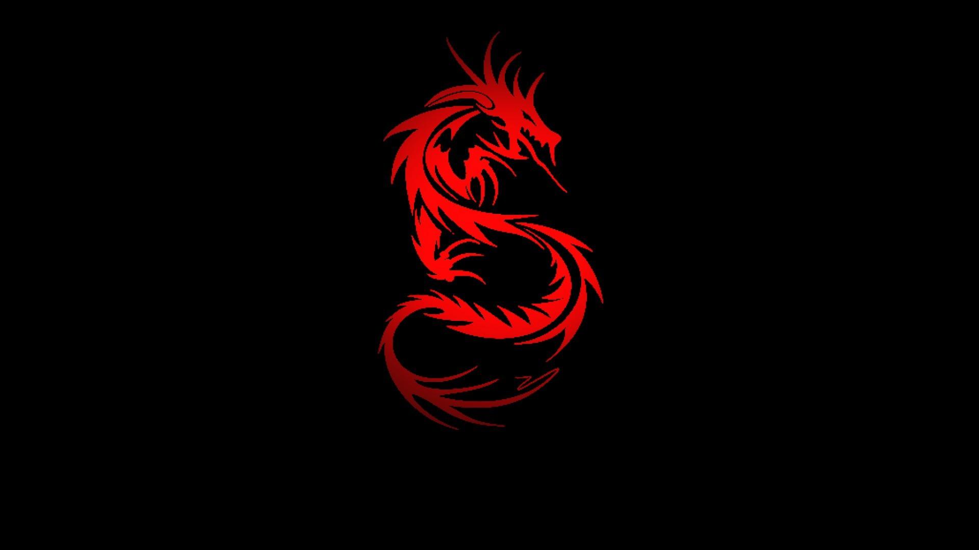Red Dragon Wallpaper ①