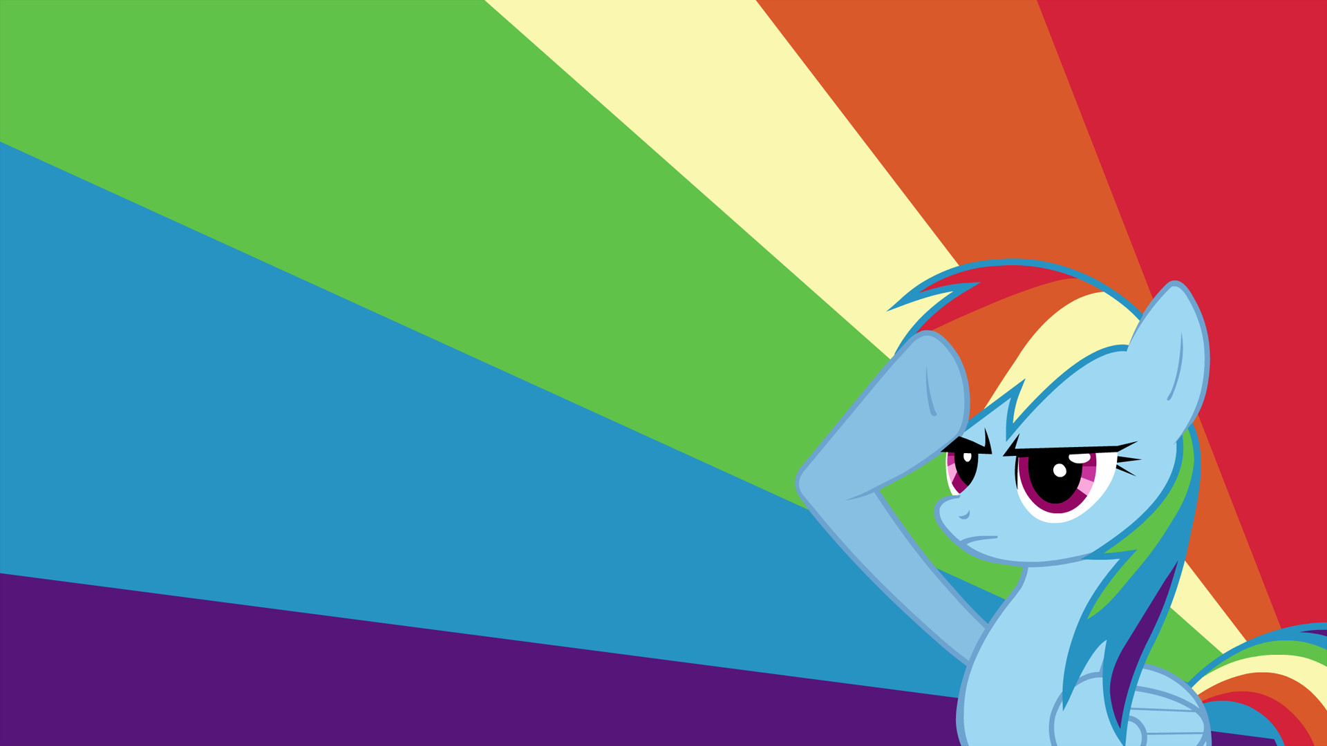 Rainbow Dash Background ·① WallpaperTag