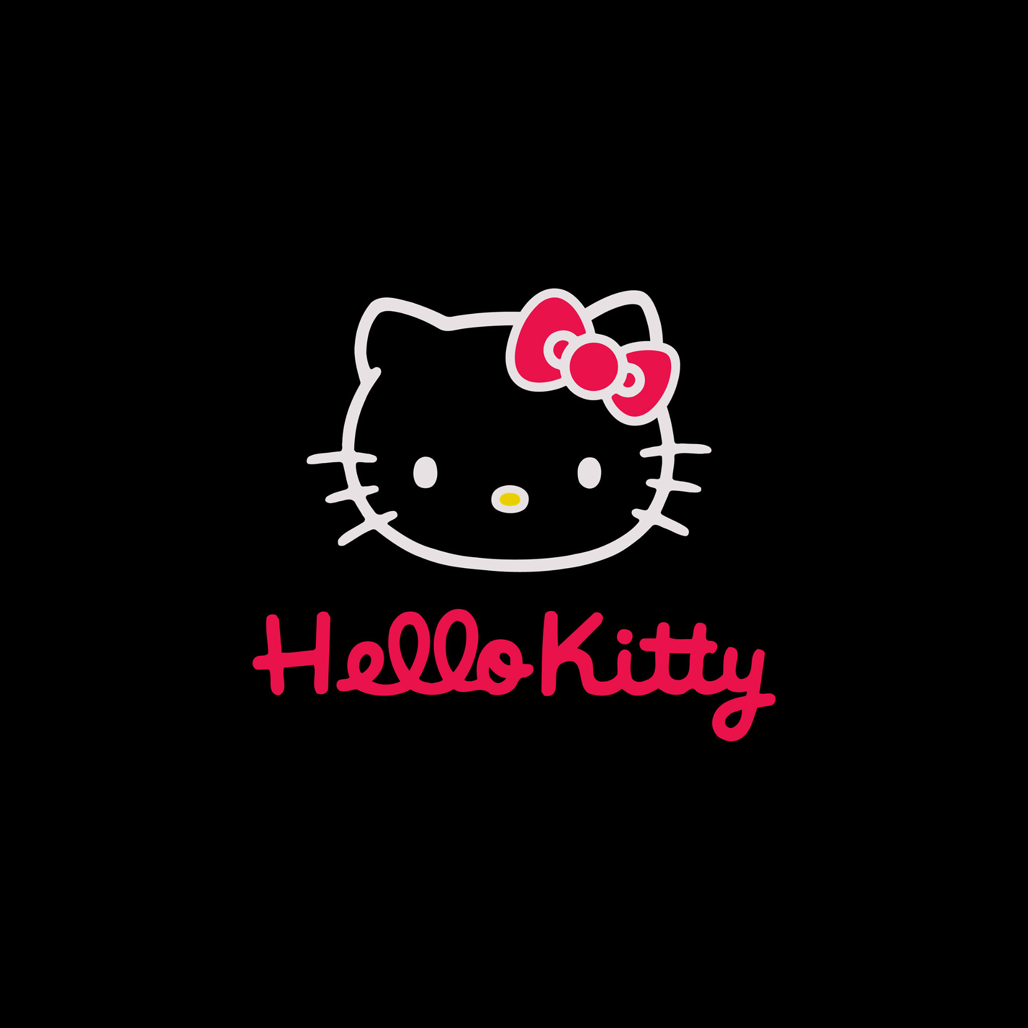 Hello Kitty Black And Pink Wallpaper Wallpapertag