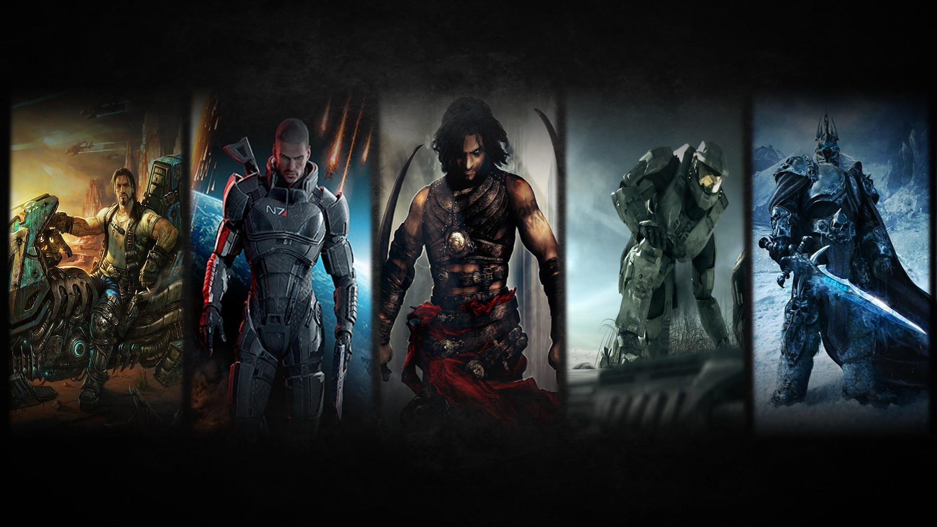 group of video game wallpapers 8241